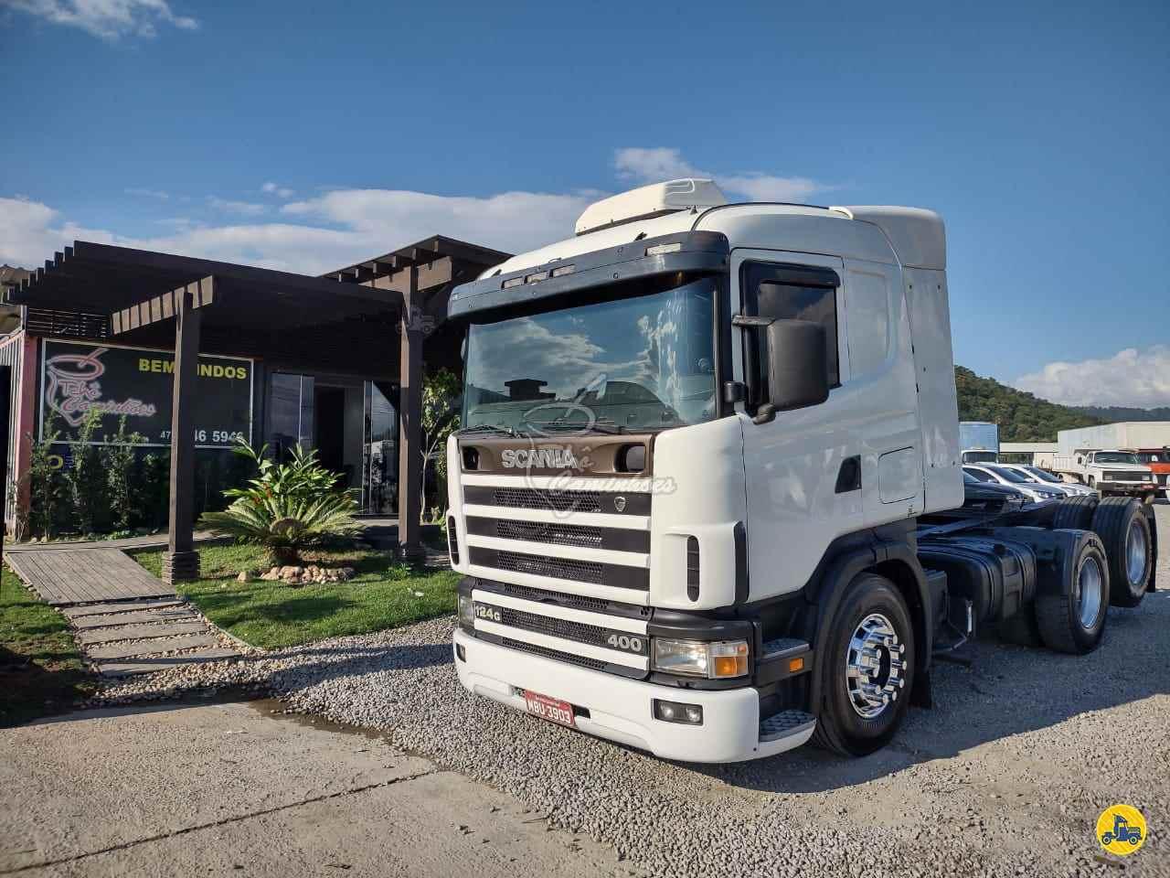 CAMINHAO SCANIA SCANIA 124 400 Cavalo Mecânico Truck 6x2 Tchê Caminhões ITAJAI SANTA CATARINA SC