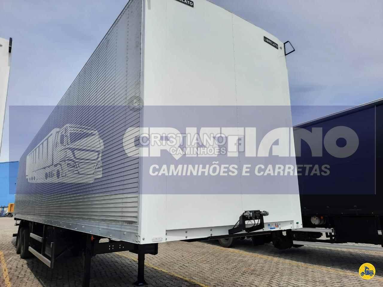 SEMI-REBOQUE BAU FURGÃO  2021/2021 Cristiano Caminhões e Carretas