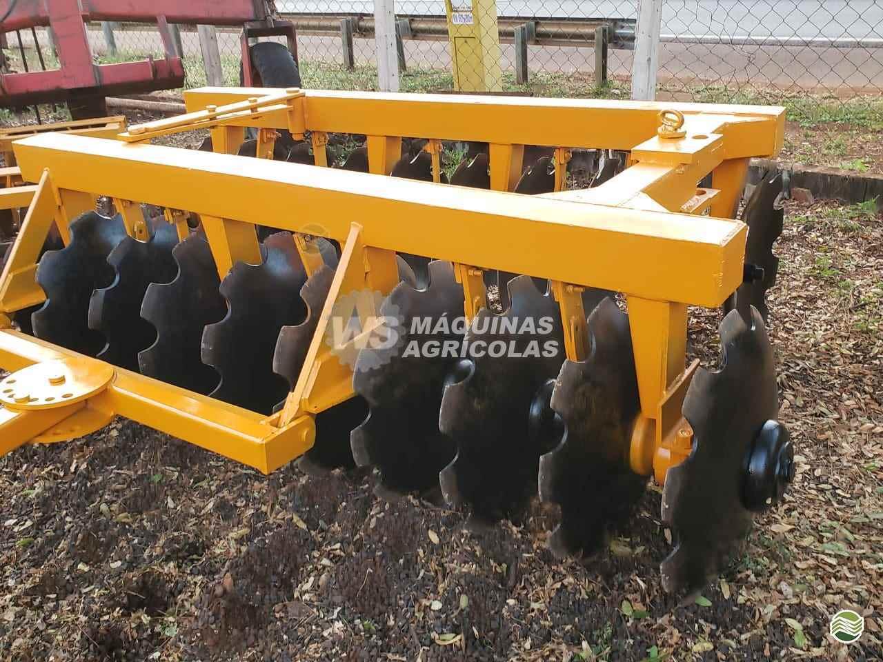 IMPLEMENTOS AGRICOLAS GRADE ARADORA ARADORA 20 DISCOS WS Máquinas Agrícolas SERTAOZINHO SÃO PAULO SP