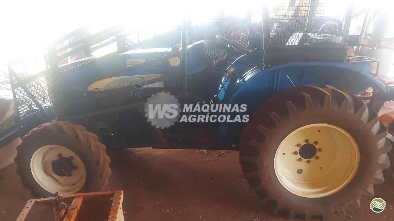 TRATOR NEW HOLLAND NEW TT 3880 Estreito Tração 4x4 WS Máquinas Agrícolas SERTAOZINHO SÃO PAULO SP
