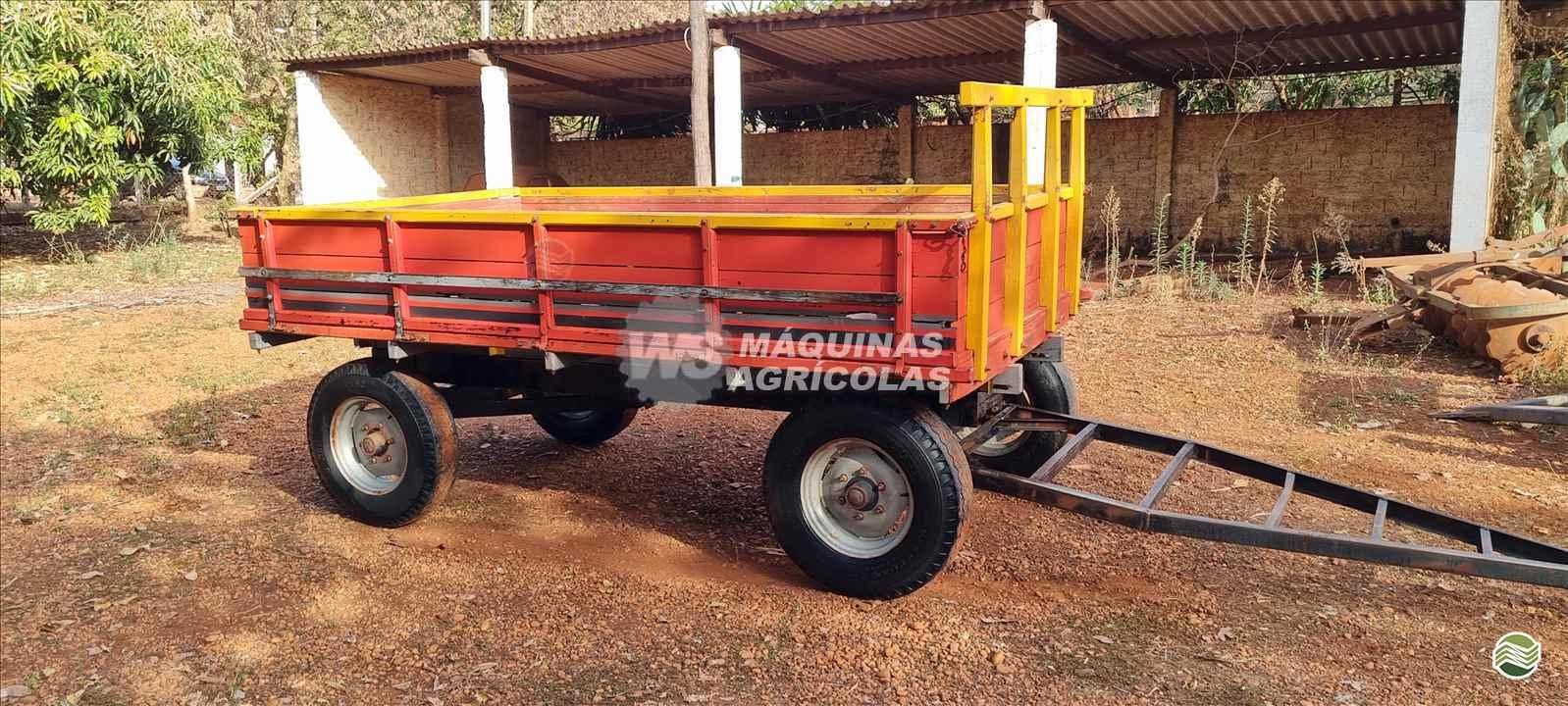 IMPLEMENTOS AGRICOLAS CARRETA AGRÍCOLA CARRETA CARROCERIA WS Máquinas Agrícolas SERTAOZINHO SÃO PAULO SP