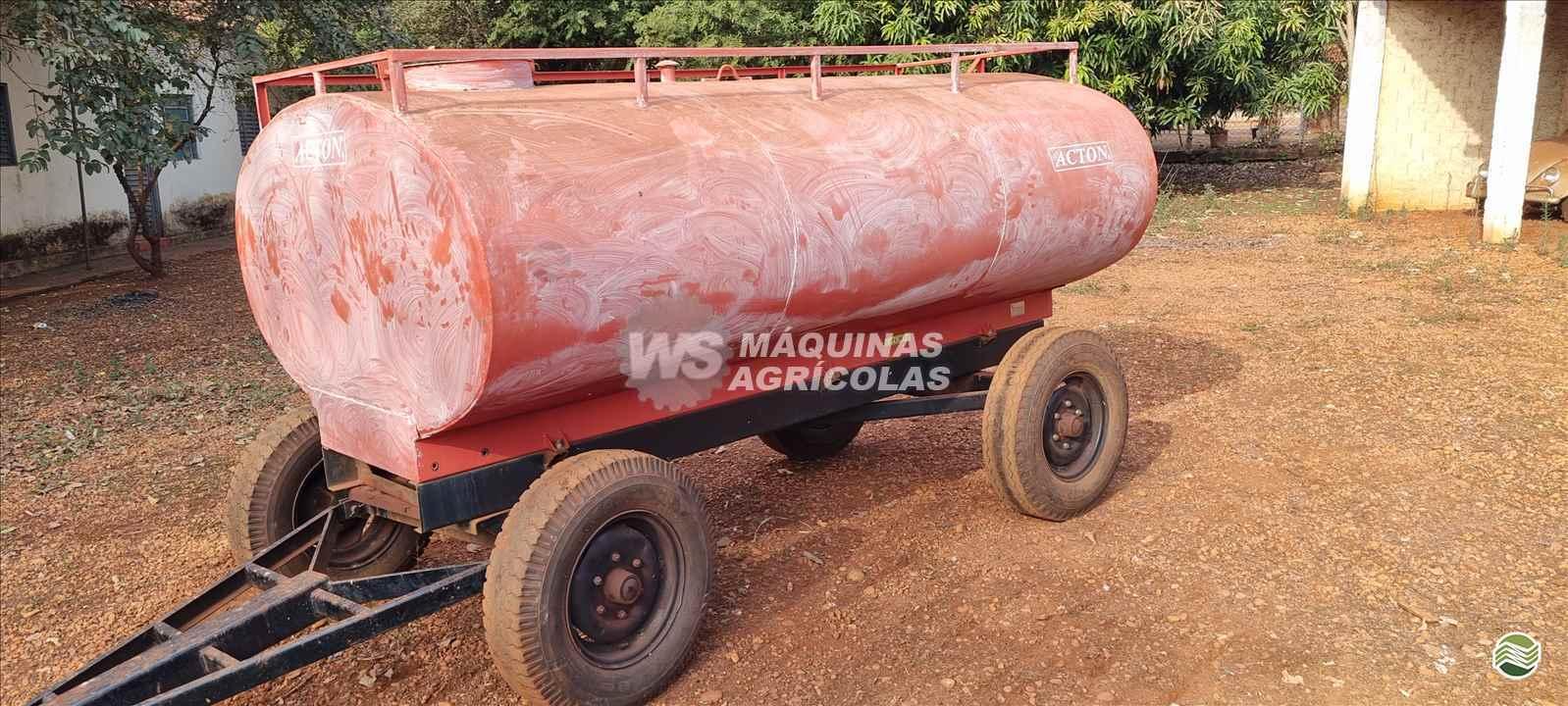 IMPLEMENTOS AGRICOLAS CARRETA TANQUE TANQUE 3500 LITROS WS Máquinas Agrícolas SERTAOZINHO SÃO PAULO SP