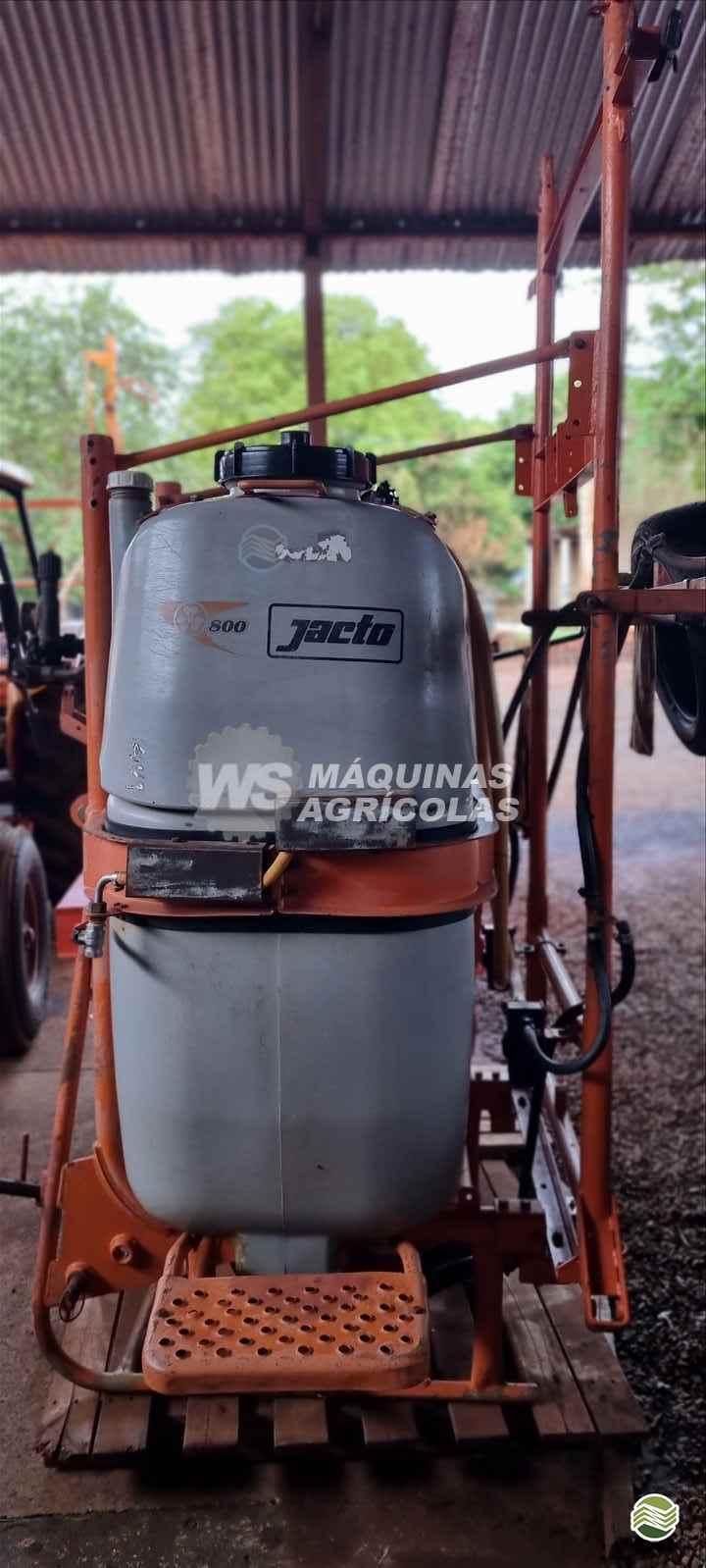 PULVERIZADOR JACTO CONDOR 800 AM14 Acoplado Hidráulico WS Máquinas Agrícolas SERTAOZINHO SÃO PAULO SP