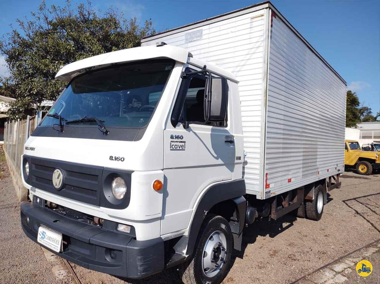 CAMINHAO VOLKSWAGEN VW 8160 Baú Furgão 3/4 4x2 SS Caminhões SAO MIGUEL DO OESTE SANTA CATARINA SC