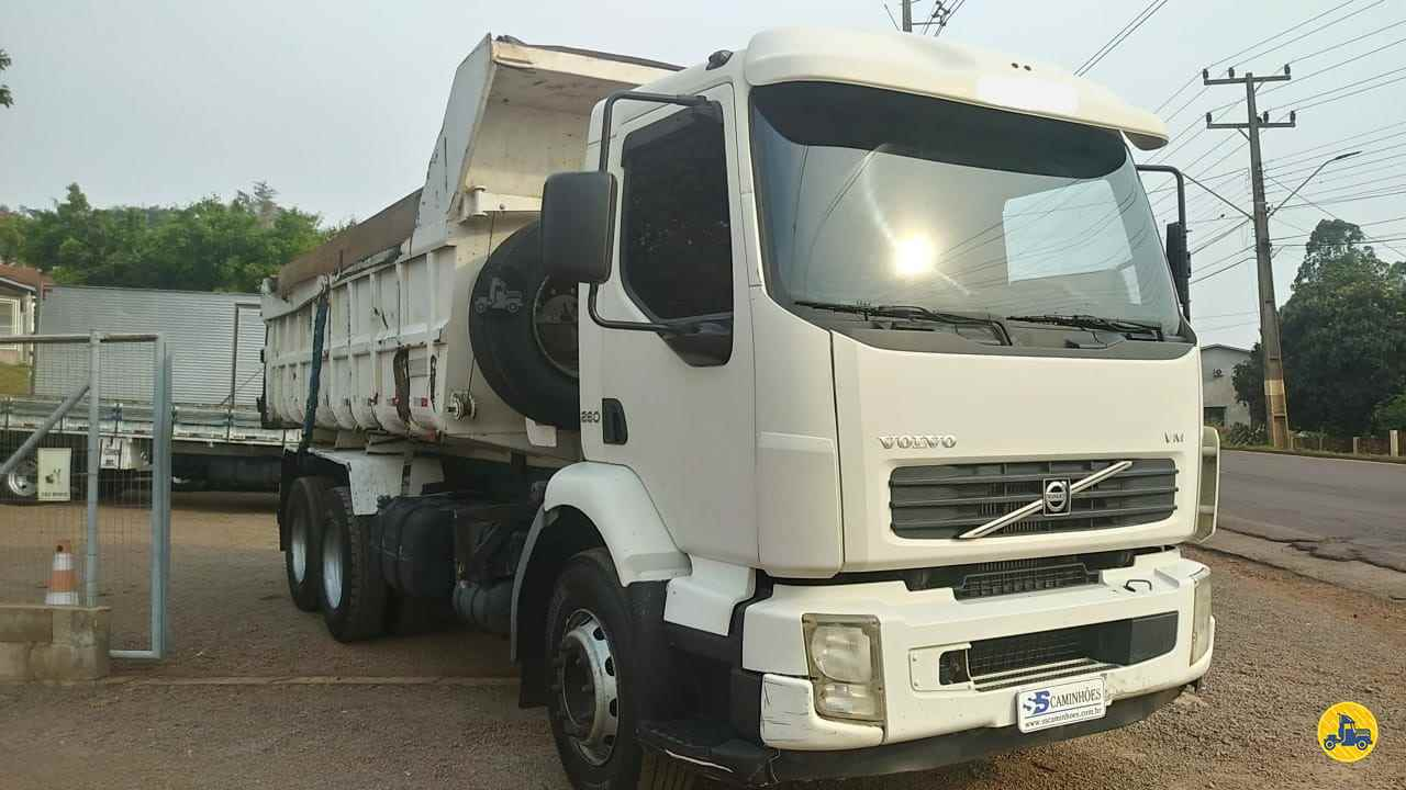 CAMINHAO VOLVO VOLVO VM 260 Caçamba Basculante Truck 6x2 SS Caminhões SAO MIGUEL DO OESTE SANTA CATARINA SC
