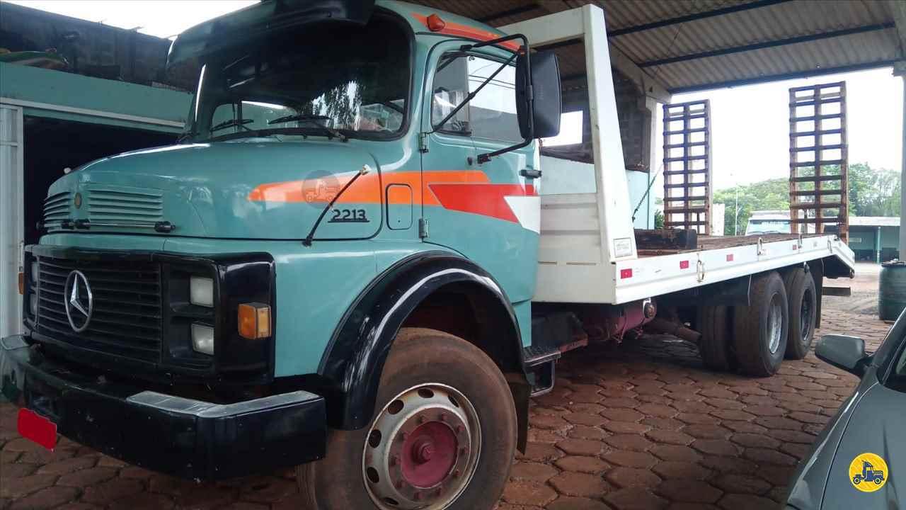 CAMINHAO MERCEDES-BENZ MB 2213 Plataforma Traçado 6x4 SS Caminhões SAO MIGUEL DO OESTE SANTA CATARINA SC