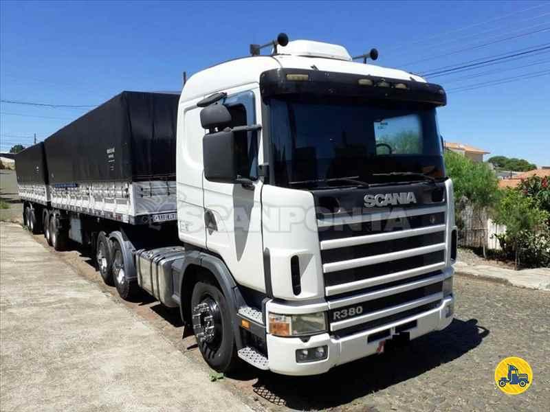 CAMINHAO SCANIA SCANIA 114 380 Cavalo Mecânico Truck 6x2 Scanponta Caminhões Peças e Serviços PONTA GROSSA PARANÁ PR