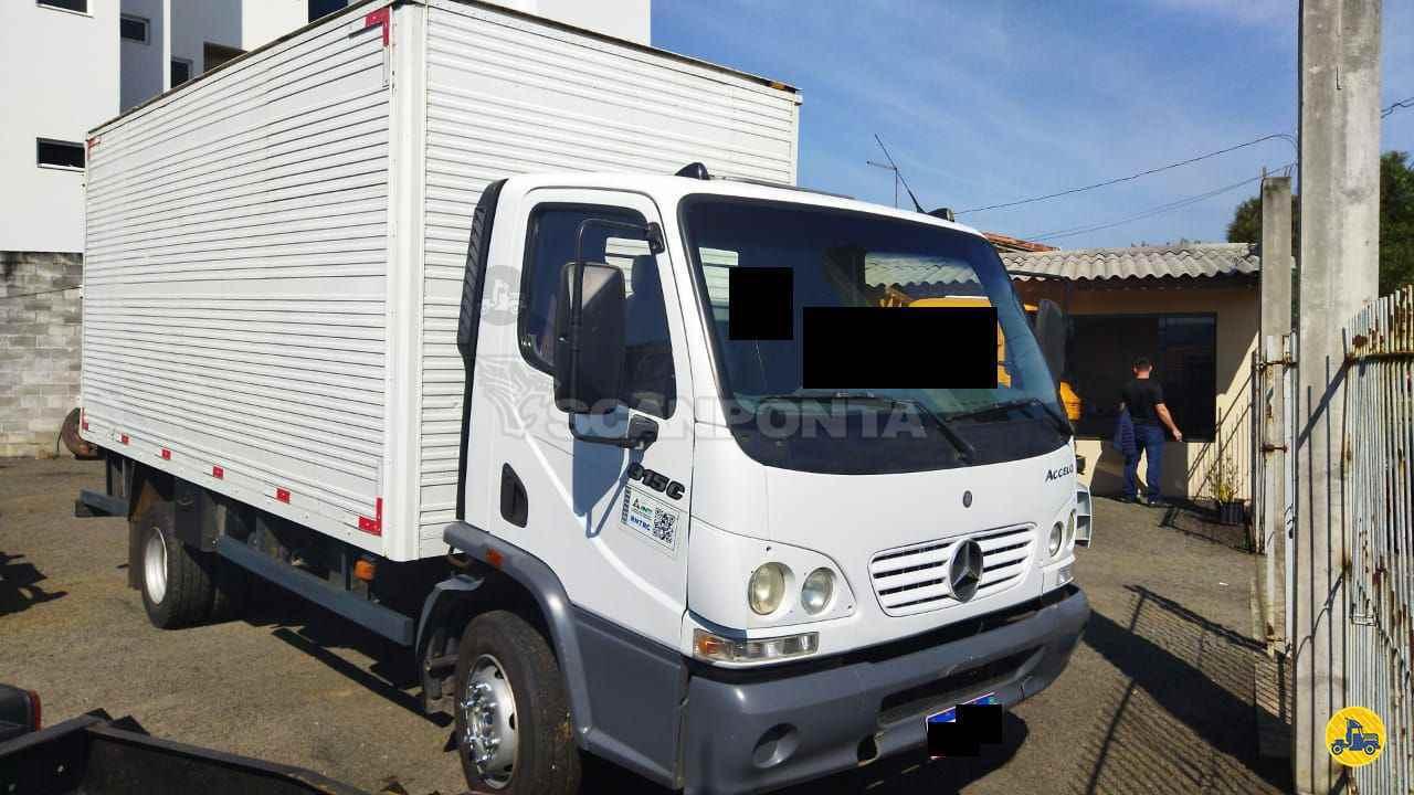 CAMINHAO MERCEDES-BENZ MB 915 Baú Furgão 3/4 4x2 Scanponta Caminhões Peças e Serviços PONTA GROSSA PARANÁ PR
