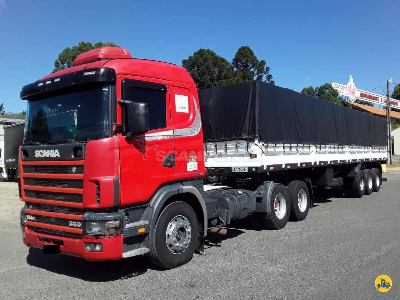 CAMINHAO SCANIA SCANIA 124 360 Cavalo Mecânico Truck 6x2 Scanponta Caminhões Peças e Serviços PONTA GROSSA PARANÁ PR