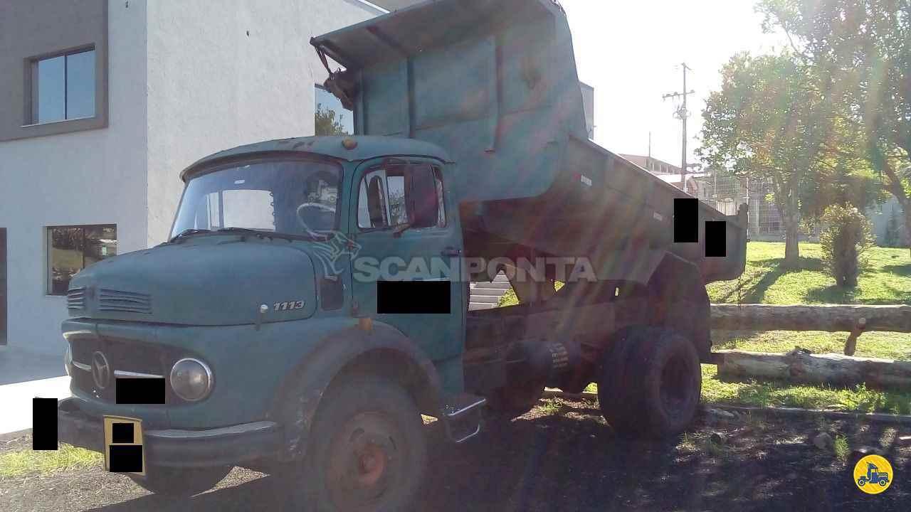 CAMINHAO MERCEDES-BENZ MB 1113 Caçamba Basculante Toco 4x2 Scanponta Caminhões Peças e Serviços PONTA GROSSA PARANÁ PR