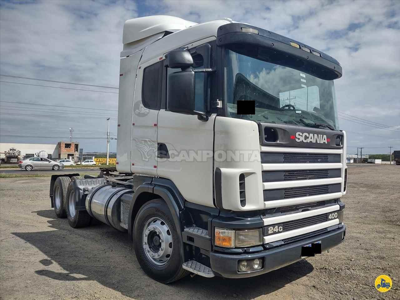 CAMINHAO SCANIA SCANIA 124 400 Cavalo Mecânico Truck 6x2 Scanponta Caminhões Peças e Serviços PONTA GROSSA PARANÁ PR