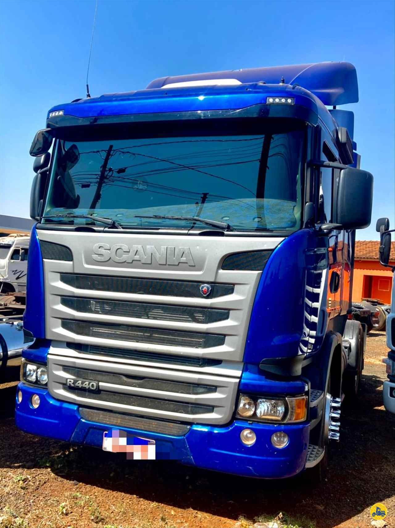 CAMINHAO SCANIA SCANIA 440 Chassis Truck 6x2 Barbosa Caminhões - Metalesp RIO VERDE GOIAS GO