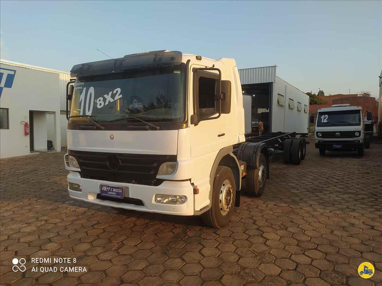 CAMINHAO MERCEDES-BENZ MB 2425 Chassis BiTruck 8x2 Massa Caminhões SAO MANUEL SÃO PAULO SP