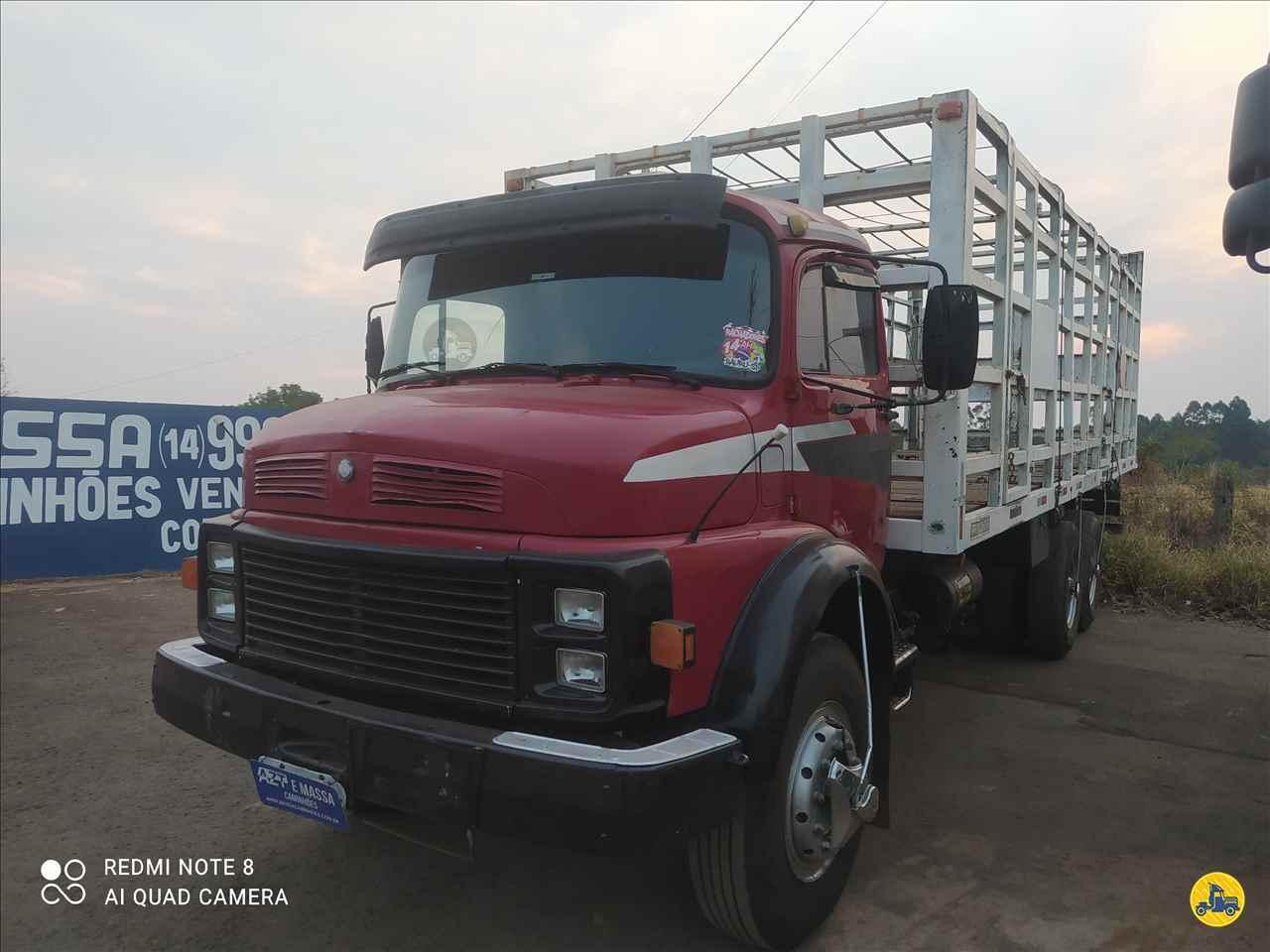 CAMINHAO MERCEDES-BENZ MB 1513 Gaiola de Gás Truck 6x2 Massa Caminhões SAO MANUEL SÃO PAULO SP
