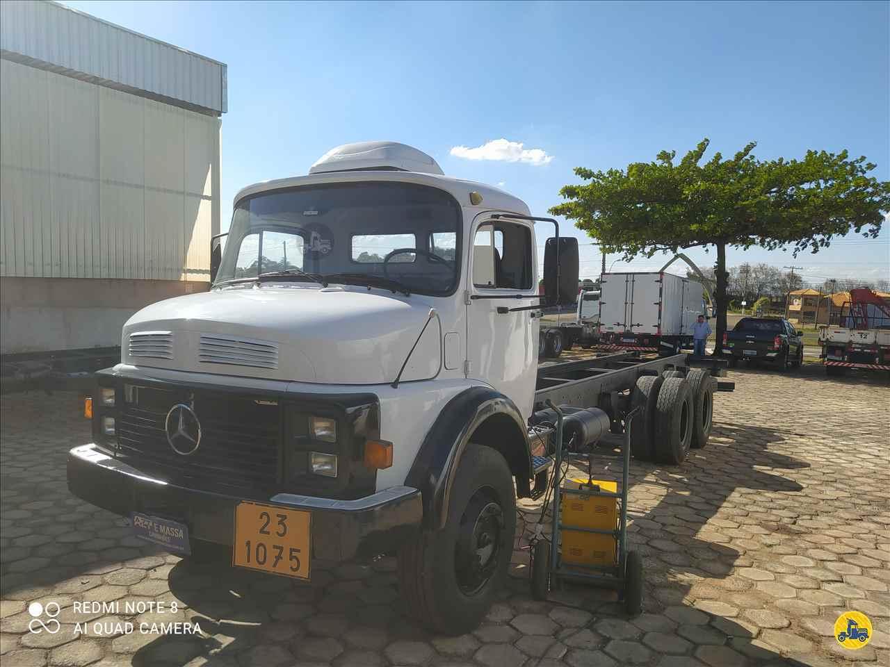 CAMINHAO MERCEDES-BENZ MB 1317 Chassis Truck 6x2 Massa Caminhões SAO MANUEL SÃO PAULO SP