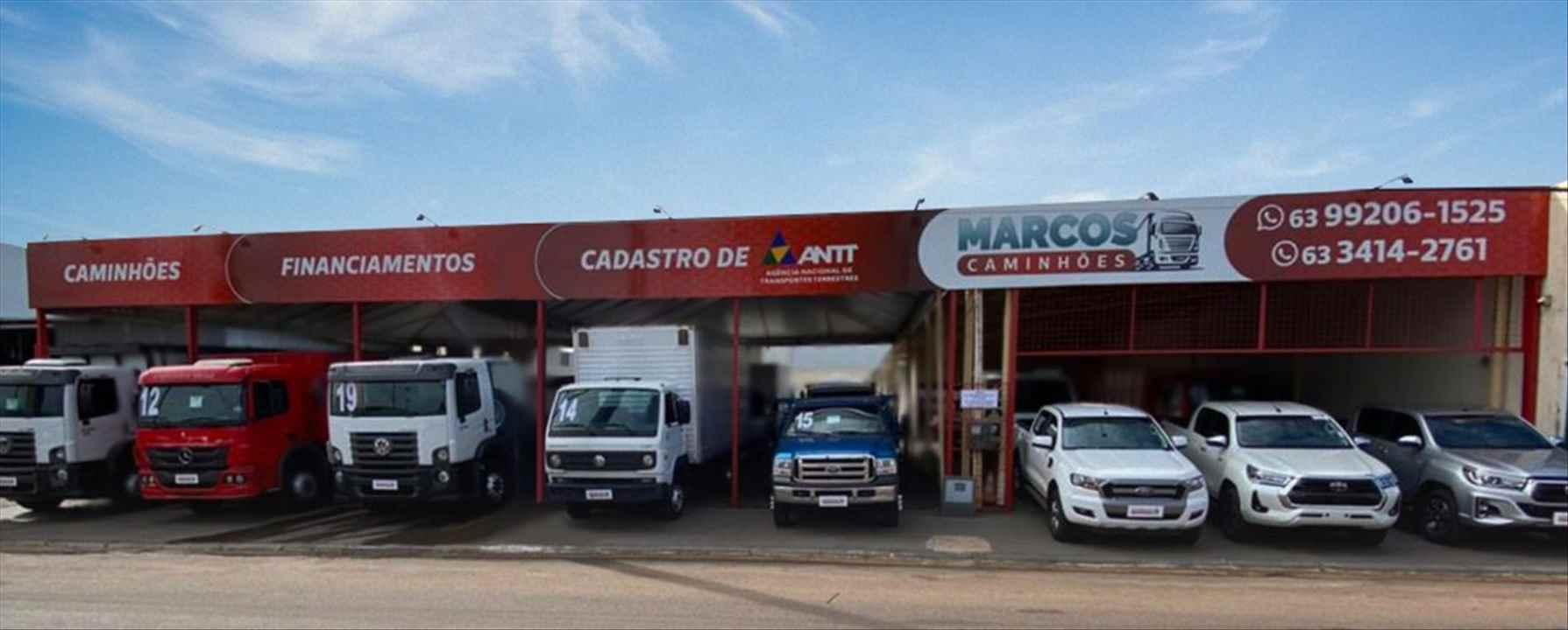 Foto da Loja da Marcos Caminhões