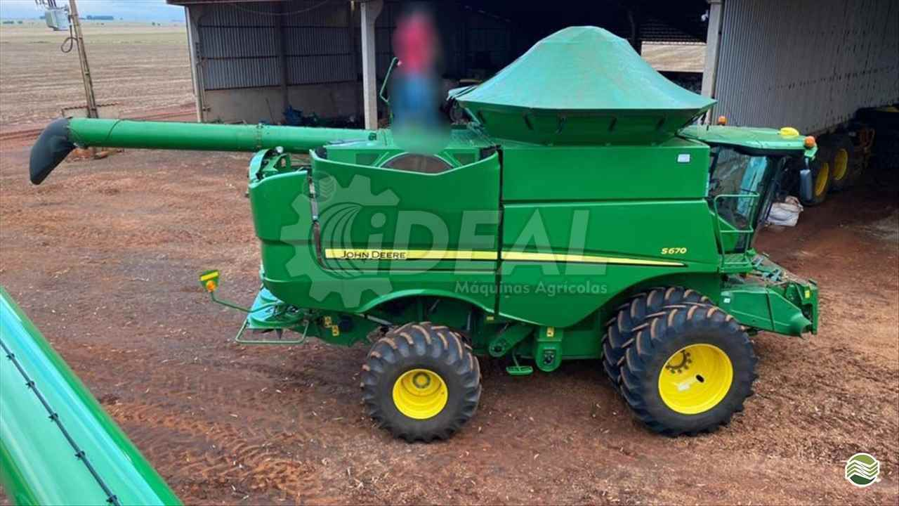 JOHN DEERE JOHN DEERE S670  2017/2017 Ideal Máquinas Agrícolas