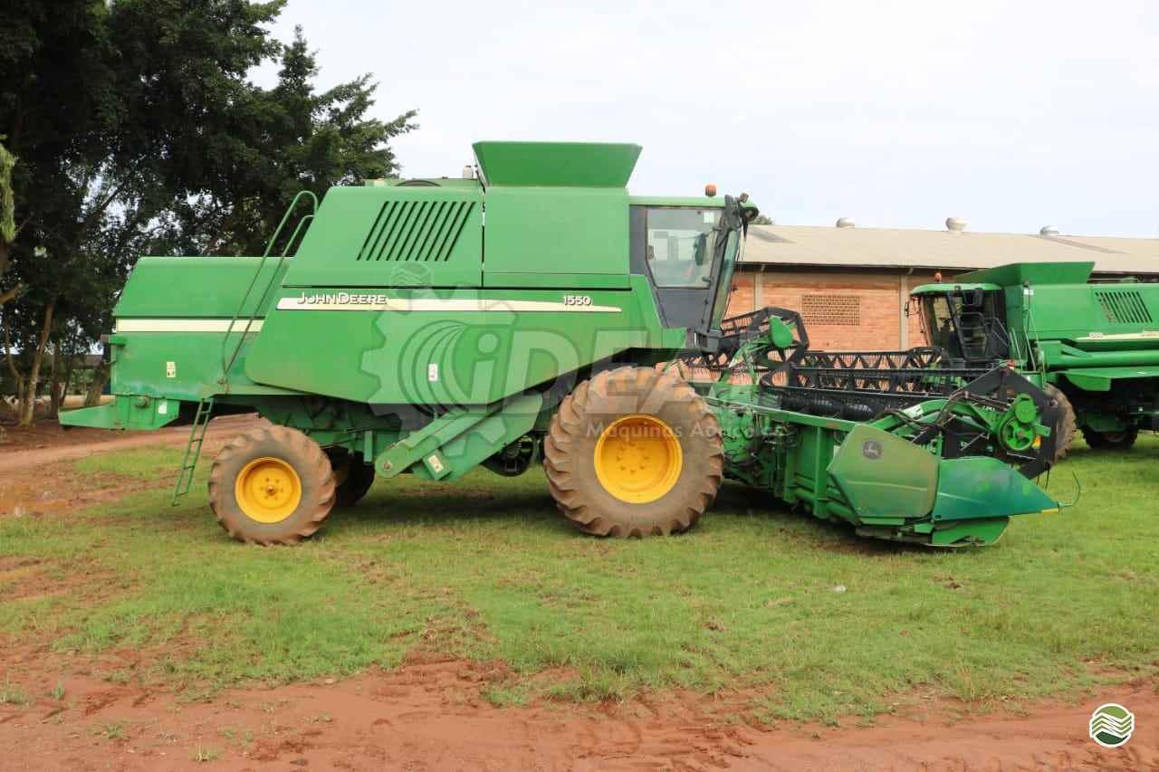 JOHN DEERE JOHN DEERE 1550  2005/2006 Ideal Máquinas Agrícolas