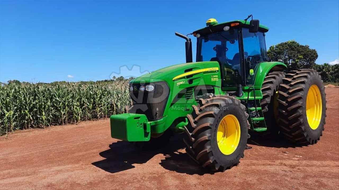 TRATOR JOHN DEERE JOHN DEERE 7230 Tração 4x4 Ideal Máquinas Agrícolas SAO GONCALO DO SAPUCAI MINAS GERAIS MG