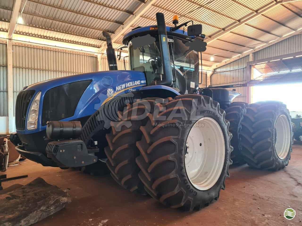 TRATOR NEW HOLLAND NEW T9 560 Tração 4x4 Ideal Máquinas Agrícolas SAO GONCALO DO SAPUCAI MINAS GERAIS MG