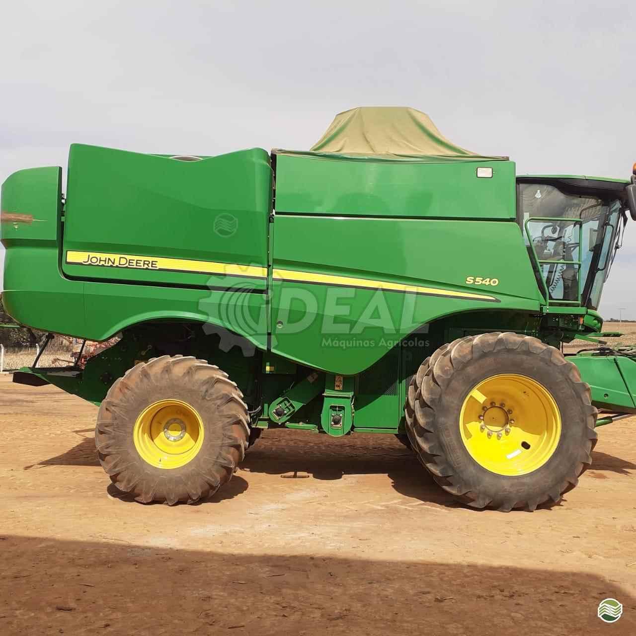COLHEITADEIRA JOHN DEERE JOHN DEERE S540 Ideal Máquinas Agrícolas SAO GONCALO DO SAPUCAI MINAS GERAIS MG