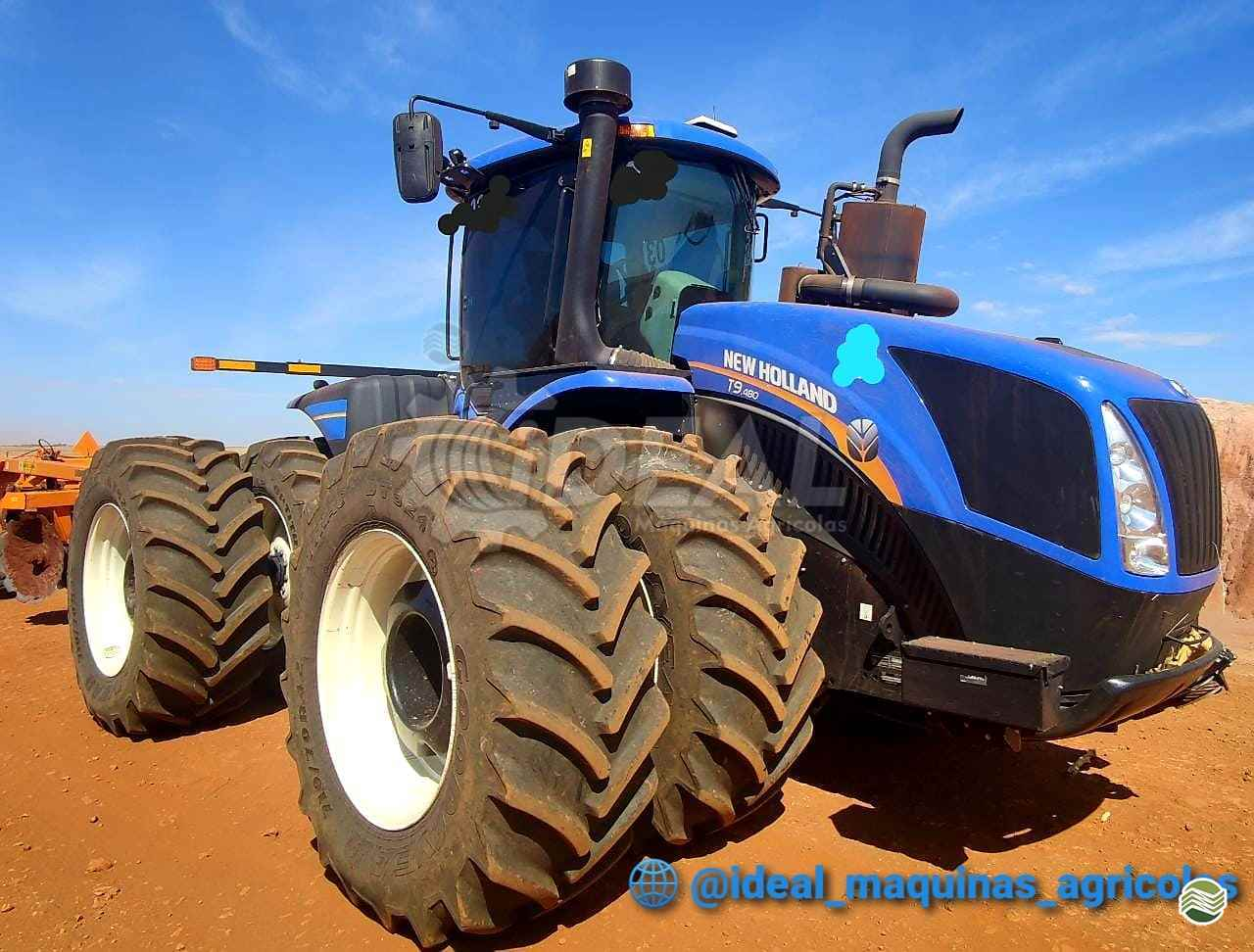 TRATOR NEW HOLLAND NEW T9 480 Tração 4x4 Ideal Máquinas Agrícolas SAO GONCALO DO SAPUCAI MINAS GERAIS MG
