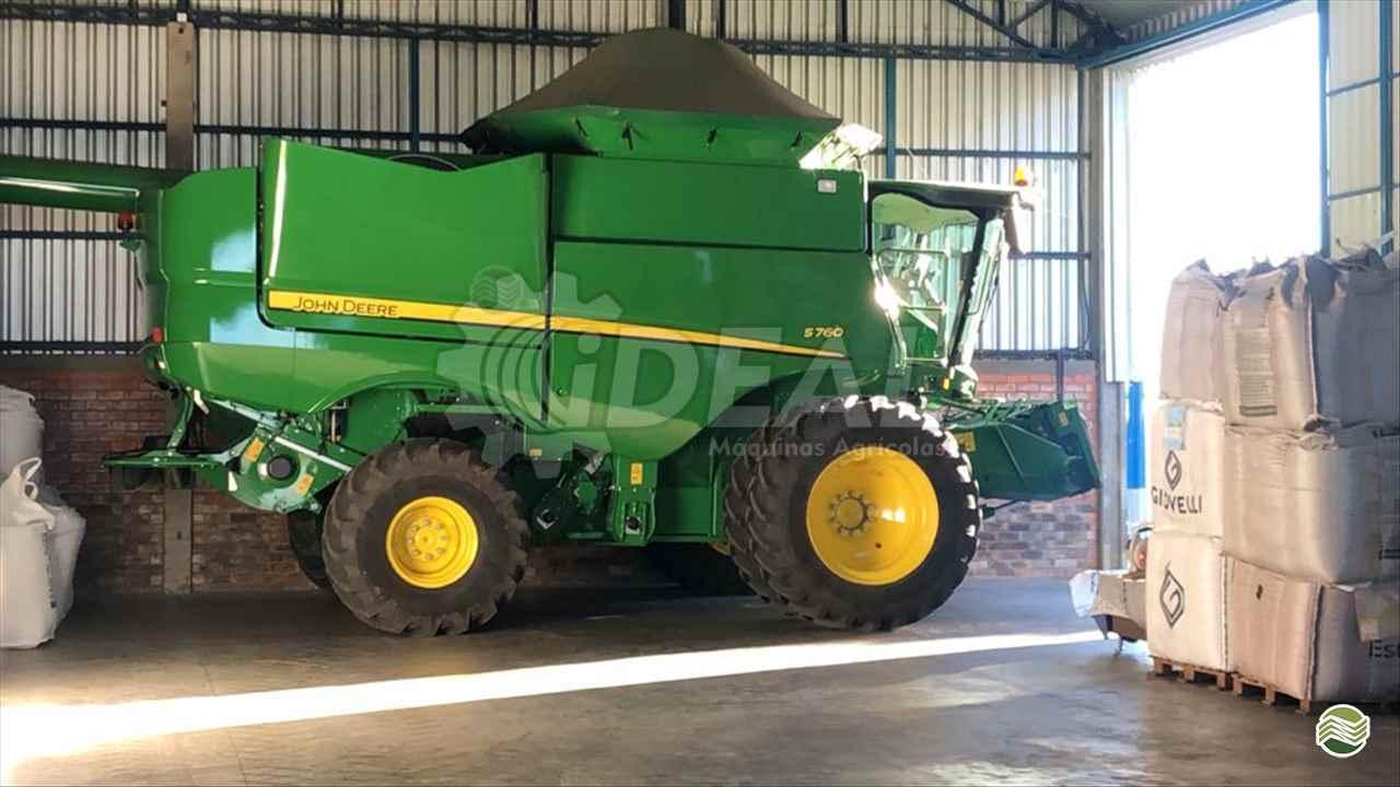 COLHEITADEIRA JOHN DEERE JOHN DEERE S760 Ideal Máquinas Agrícolas SAO GONCALO DO SAPUCAI MINAS GERAIS MG