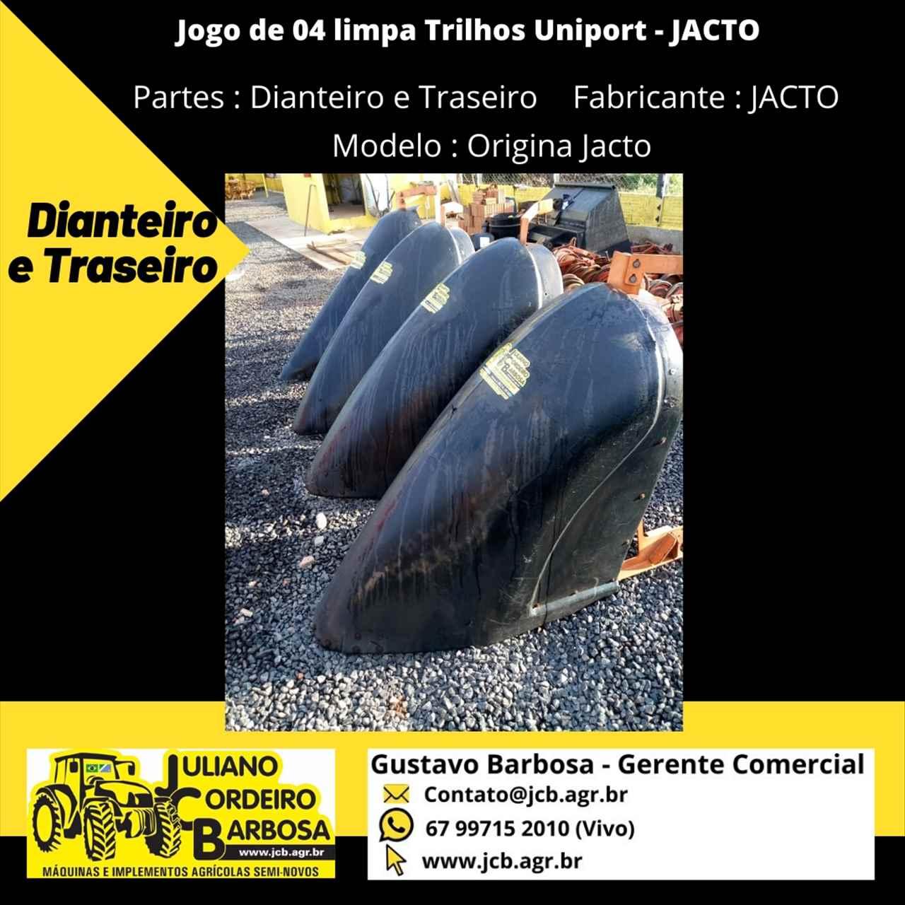Jogo de 04 limpa Trilhos Uniport - JACTO