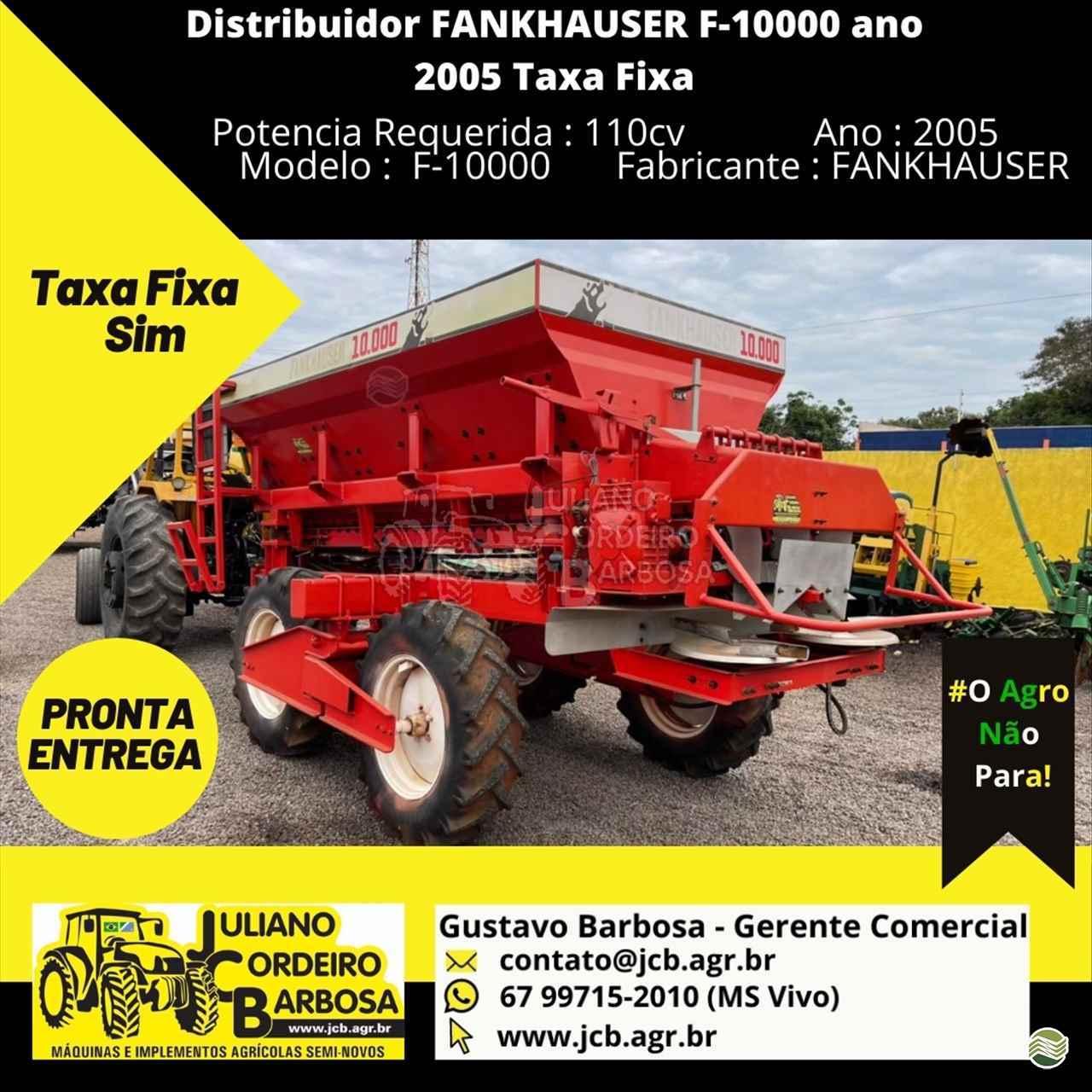 IMPLEMENTOS AGRICOLAS DISTRIBUIDOR CALCÁRIO 10000 Kg JCB Máquinas e Implementos Agrícolas MARACAJU MATO GROSSO DO SUL MS