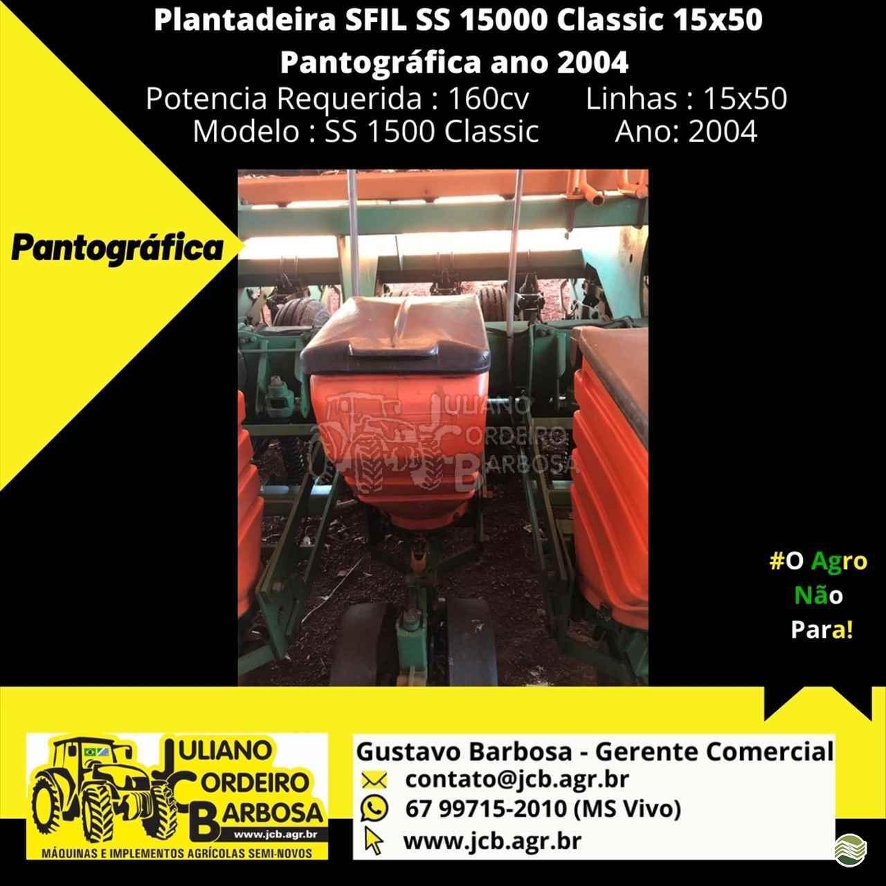 SFIL SFIL SS 15000  2004/2004 JCB Máquinas e Implementos Agrícolas