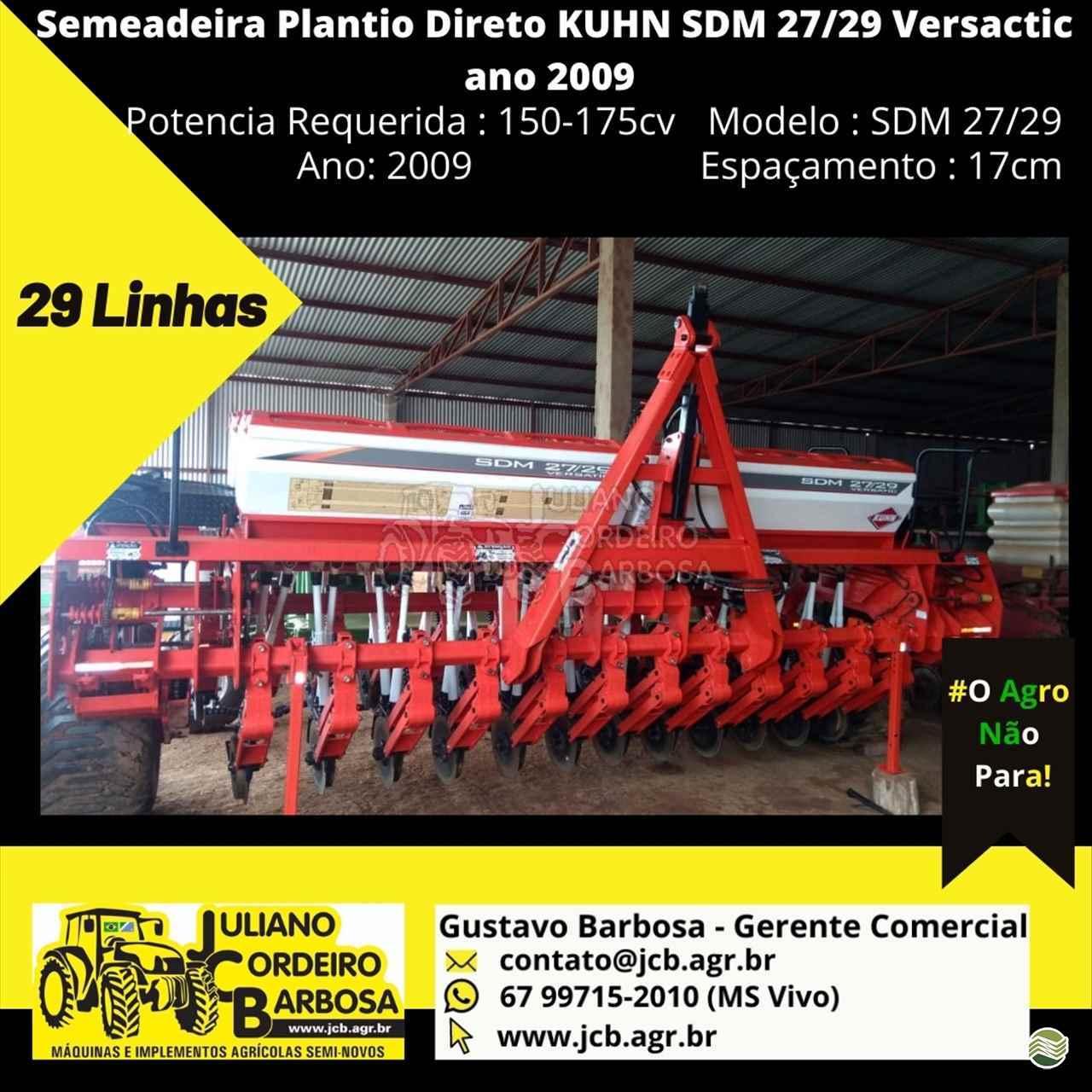SEMEADEIRA KUHN SDM 2227/29 JCB Máquinas e Implementos Agrícolas MARACAJU MATO GROSSO DO SUL MS