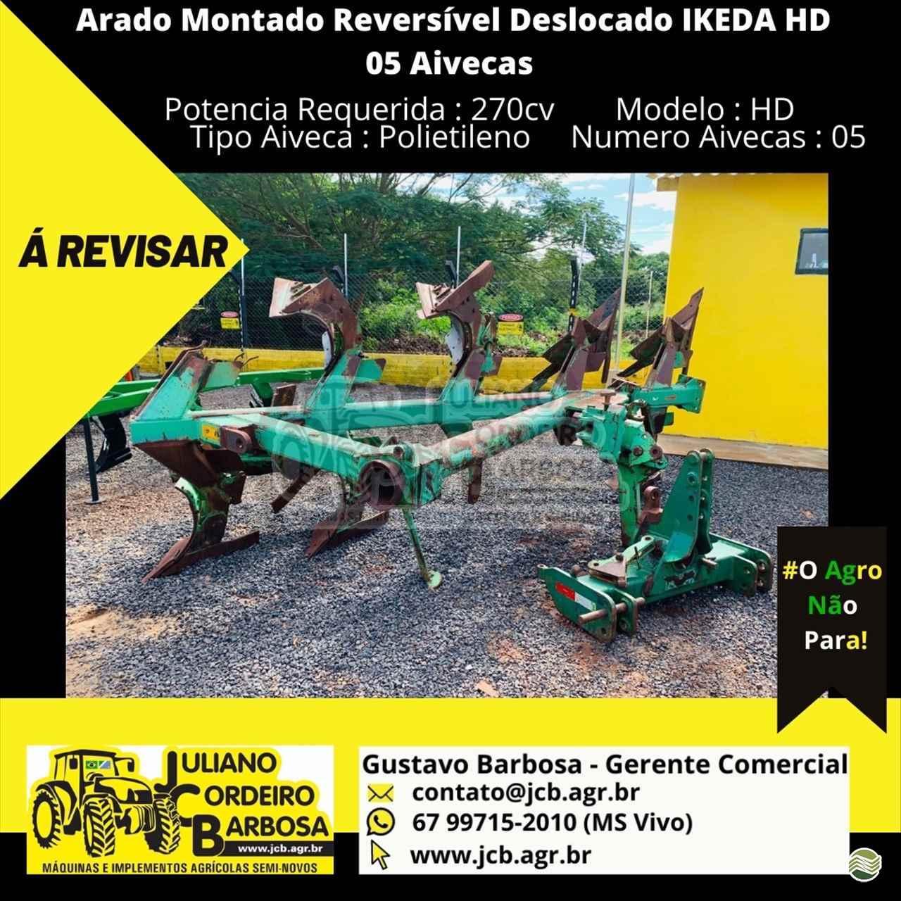 IMPLEMENTOS AGRICOLAS ARADO DE DISCO ARADO DE AIVECA JCB Máquinas e Implementos Agrícolas MARACAJU MATO GROSSO DO SUL MS