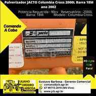 JACTO COLUMBIA CROSS  2002/2002 JCB Máquinas e Implementos Agrícolas