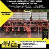 STARA HY-TECH SS 8000  2005/2005 JCB Máquinas e Implementos Agrícolas
