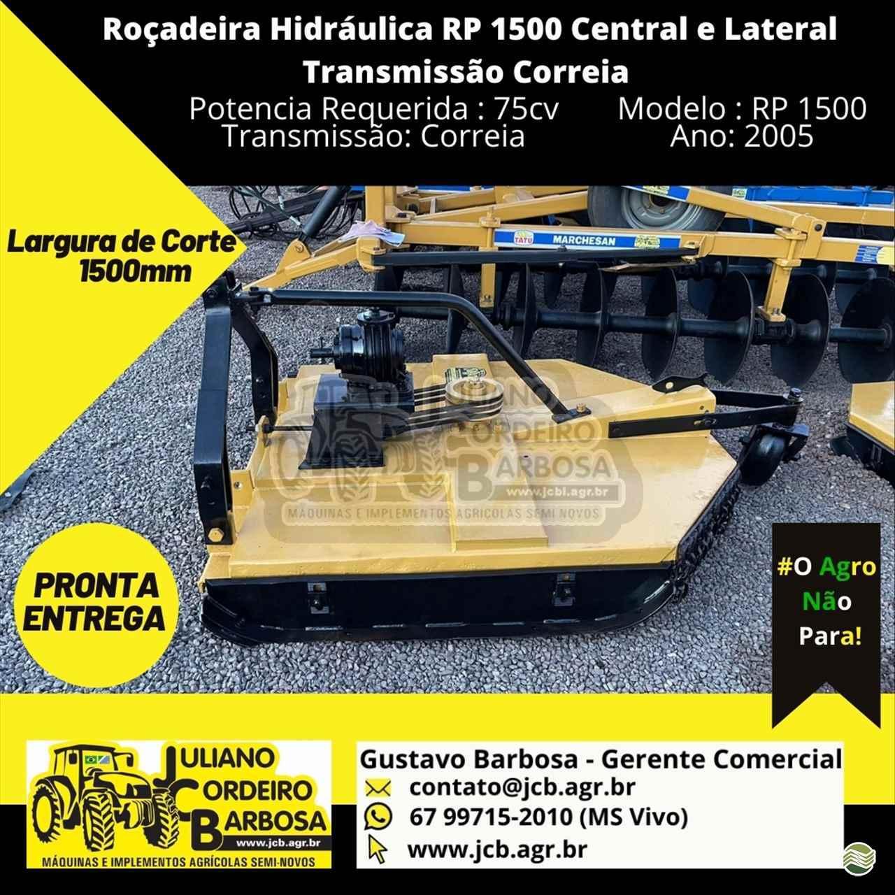 ROCADEIRA HIDRÁULICA de JCB Máquinas e Implementos Agrícolas - MARACAJU/MS