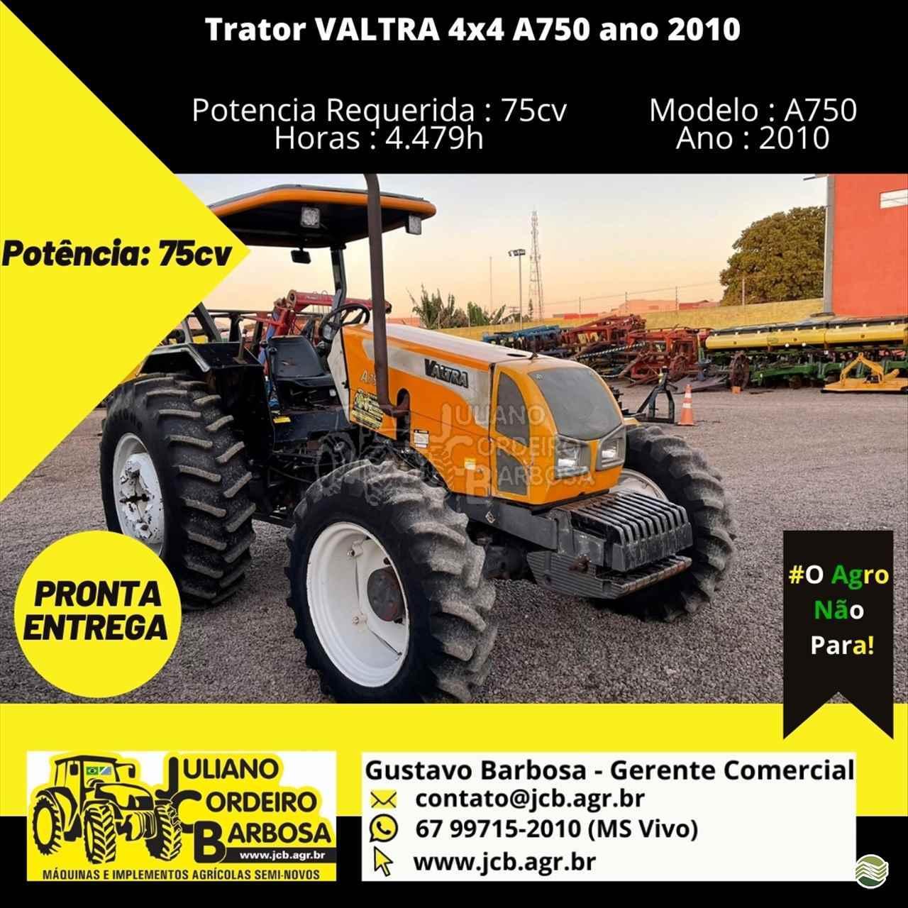 TRATOR VALTRA VALTRA A750 Tração 4x4 JCB Máquinas e Implementos Agrícolas MARACAJU MATO GROSSO DO SUL MS
