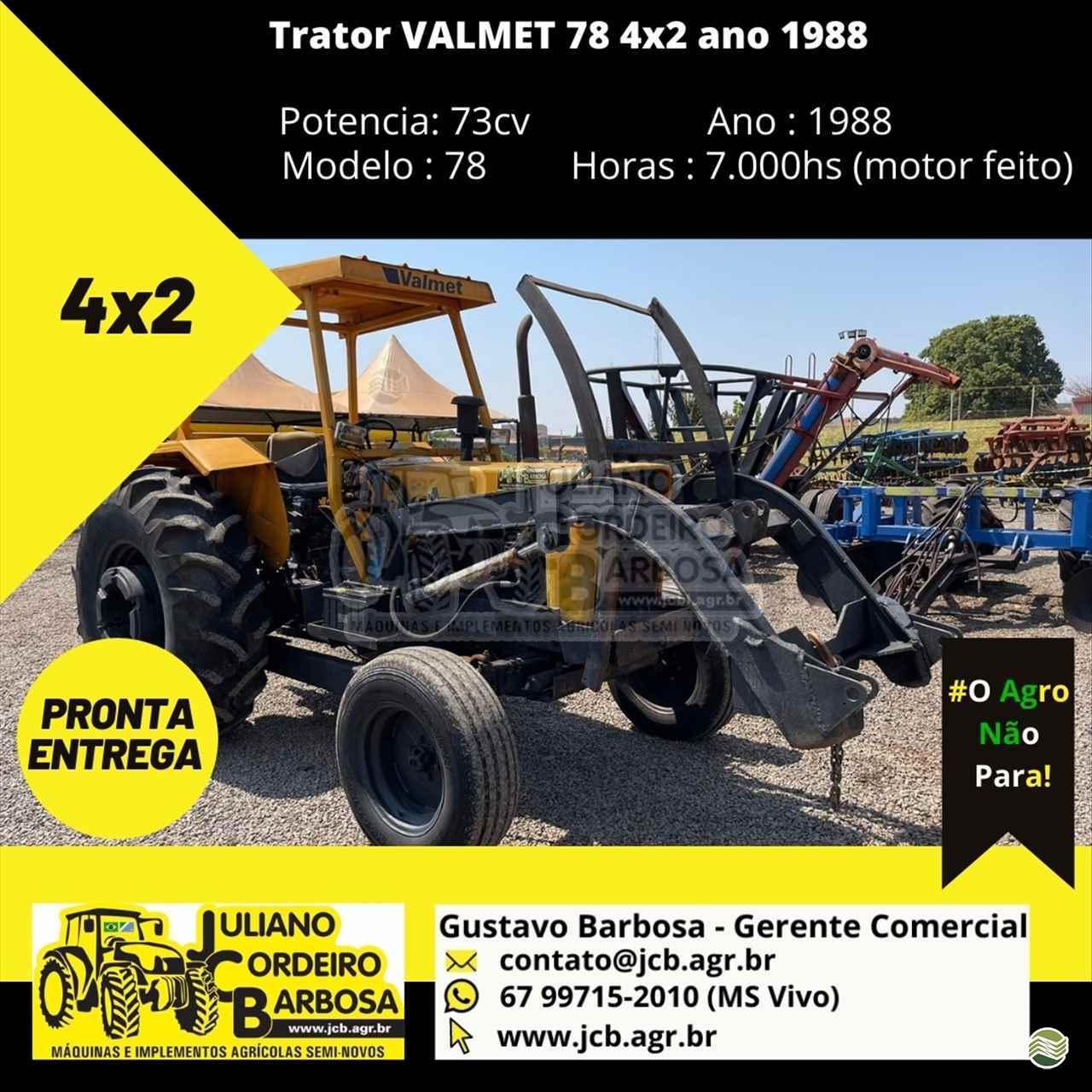 TRATOR VALMET VALMET 78 Tração 4x2 JCB Máquinas e Implementos Agrícolas MARACAJU MATO GROSSO DO SUL MS