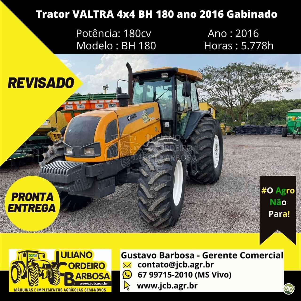TRATOR VALTRA VALTRA BH 180 Tração 4x4 JCB Máquinas e Implementos Agrícolas MARACAJU MATO GROSSO DO SUL MS