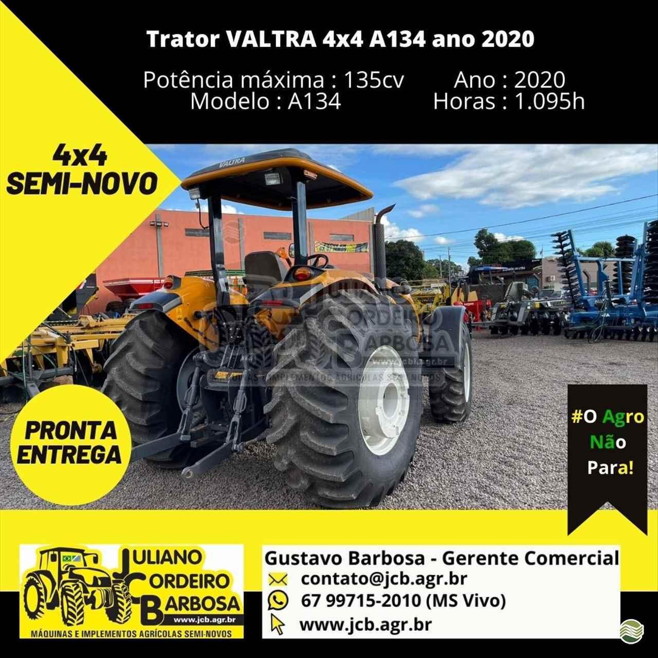 TRATOR VALTRA VALTRA A134 Tração 4x4 JCB Máquinas e Implementos Agrícolas MARACAJU MATO GROSSO DO SUL MS