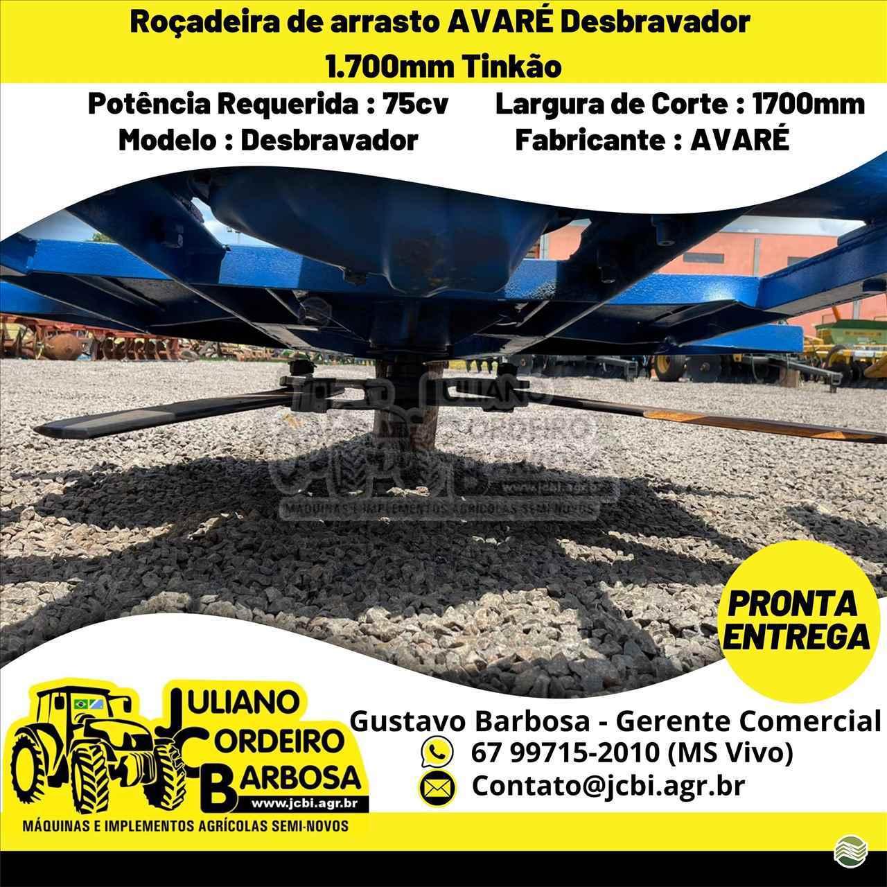 ROCADEIRA ARRASTO de JCB Máquinas e Implementos Agrícolas - MARACAJU/MS
