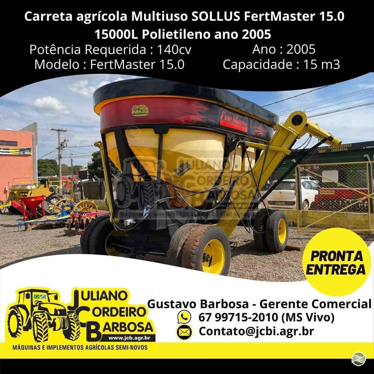 GRANELEIRA 15000 de JCB Máquinas e Implementos Agrícolas - MARACAJU/MS