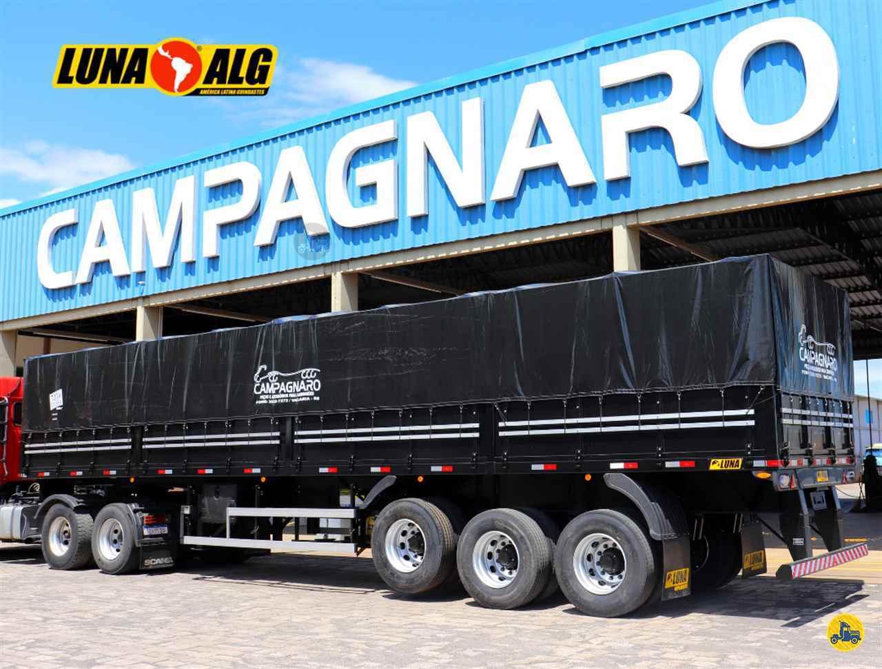 SEMI-REBOQUE GRANELEIRO  2020/2021 Campagnaro Caminhões