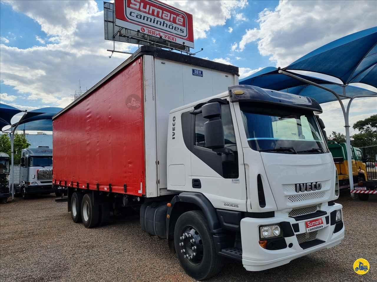CAMINHAO IVECO TECTOR 240E25 Baú Sider Truck 6x2 Sumaré Caminhões SUMARE SÃO PAULO SP
