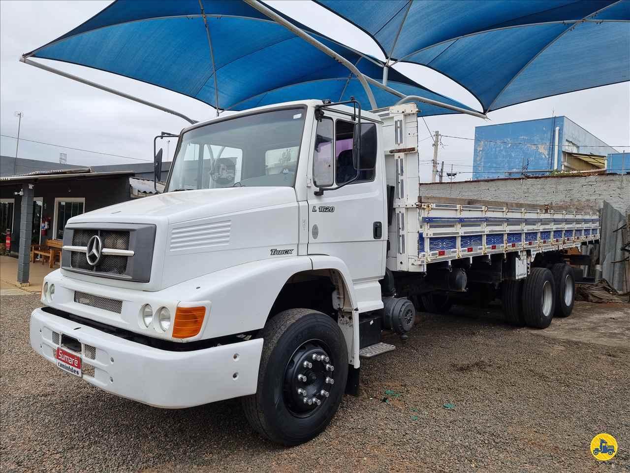 CAMINHAO MERCEDES-BENZ MB 1620 Carga Seca Truck 6x2 Sumaré Caminhões SUMARE SÃO PAULO SP