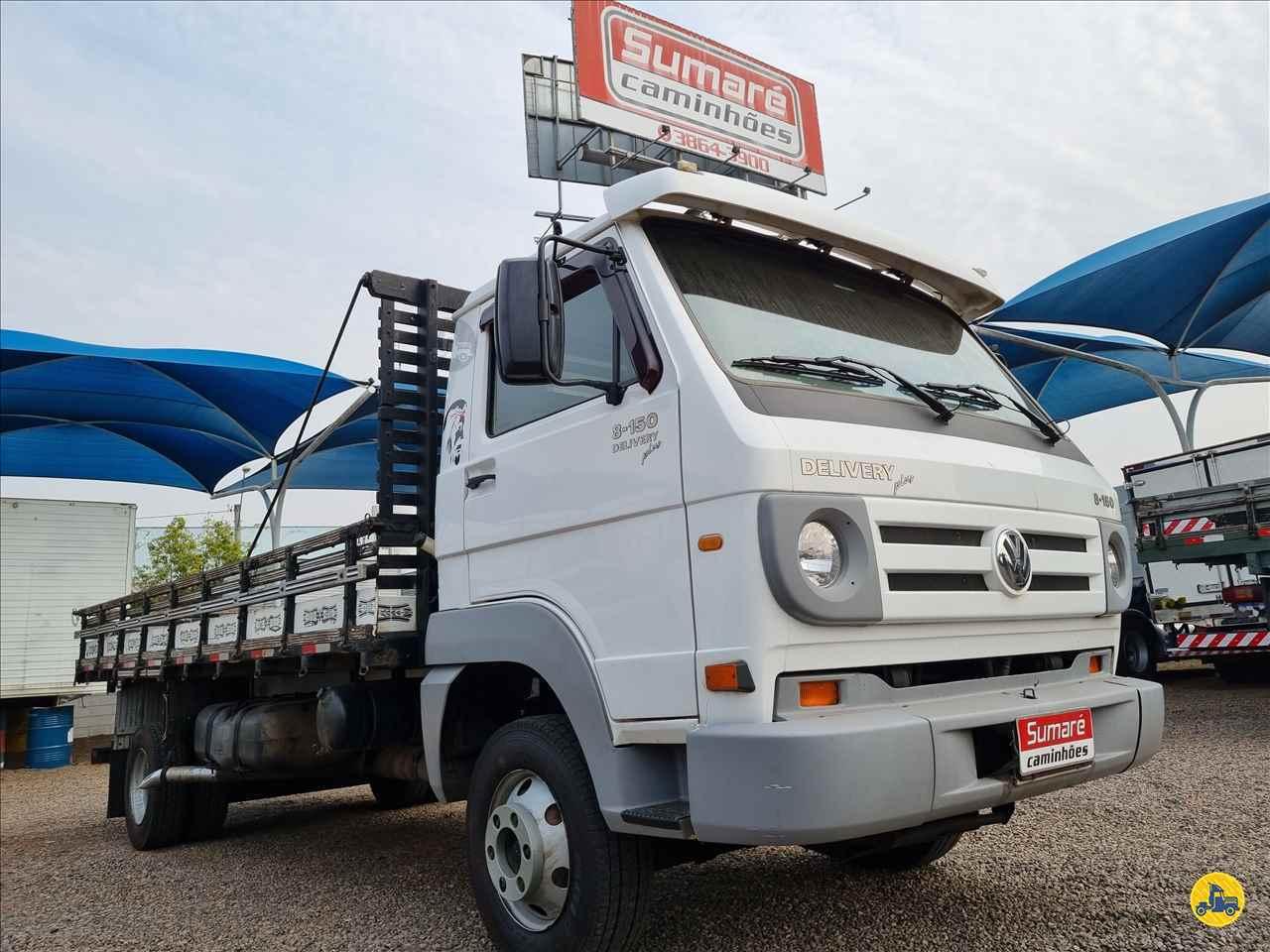 CAMINHAO VOLKSWAGEN VW 8150 Carga Seca 3/4 4x2 Sumaré Caminhões SUMARE SÃO PAULO SP