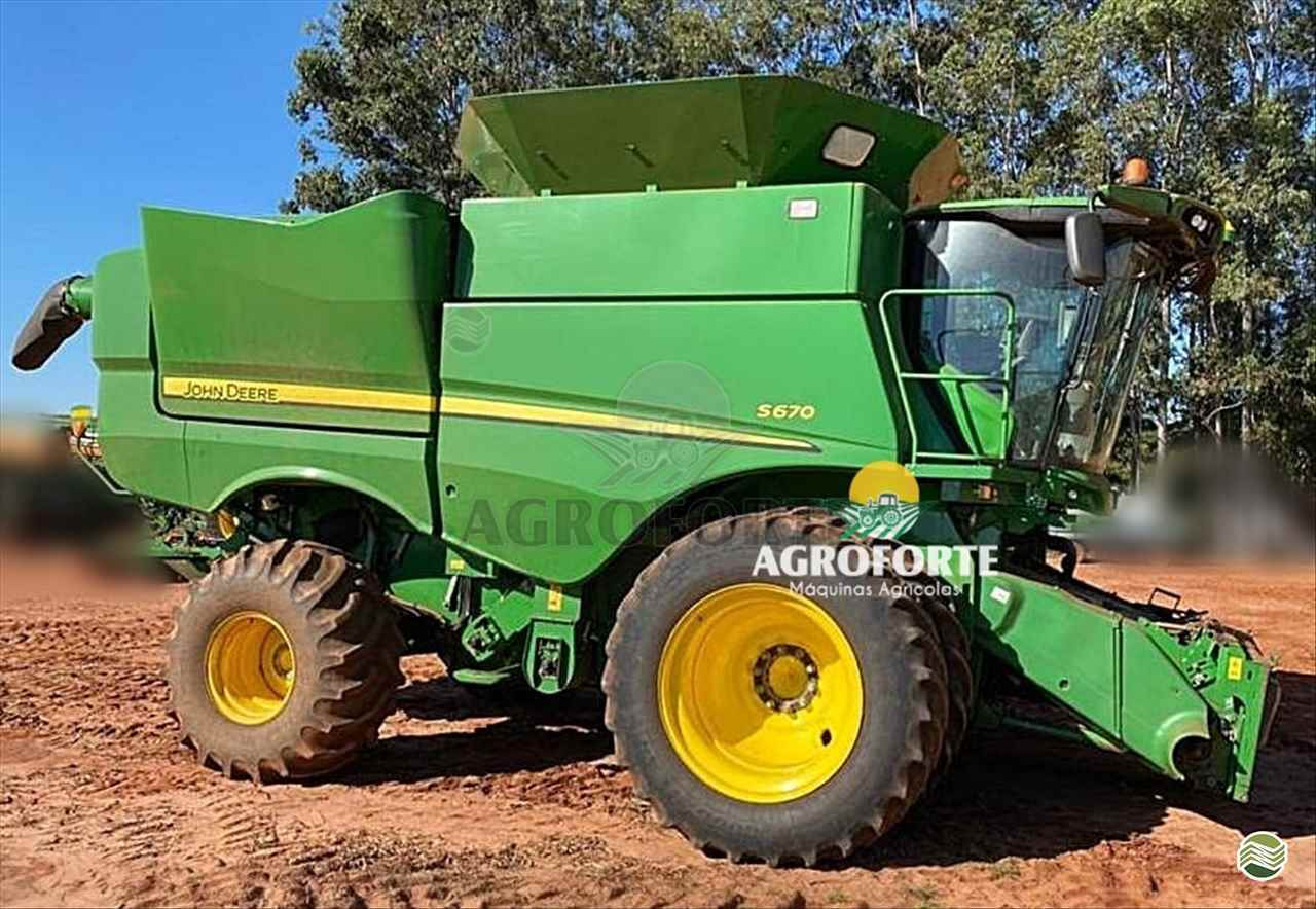 COLHEITADEIRA JOHN DEERE JOHN DEERE S670 Agroforte Máquinas PRIMAVERA DO LESTE MATO GROSSO MT