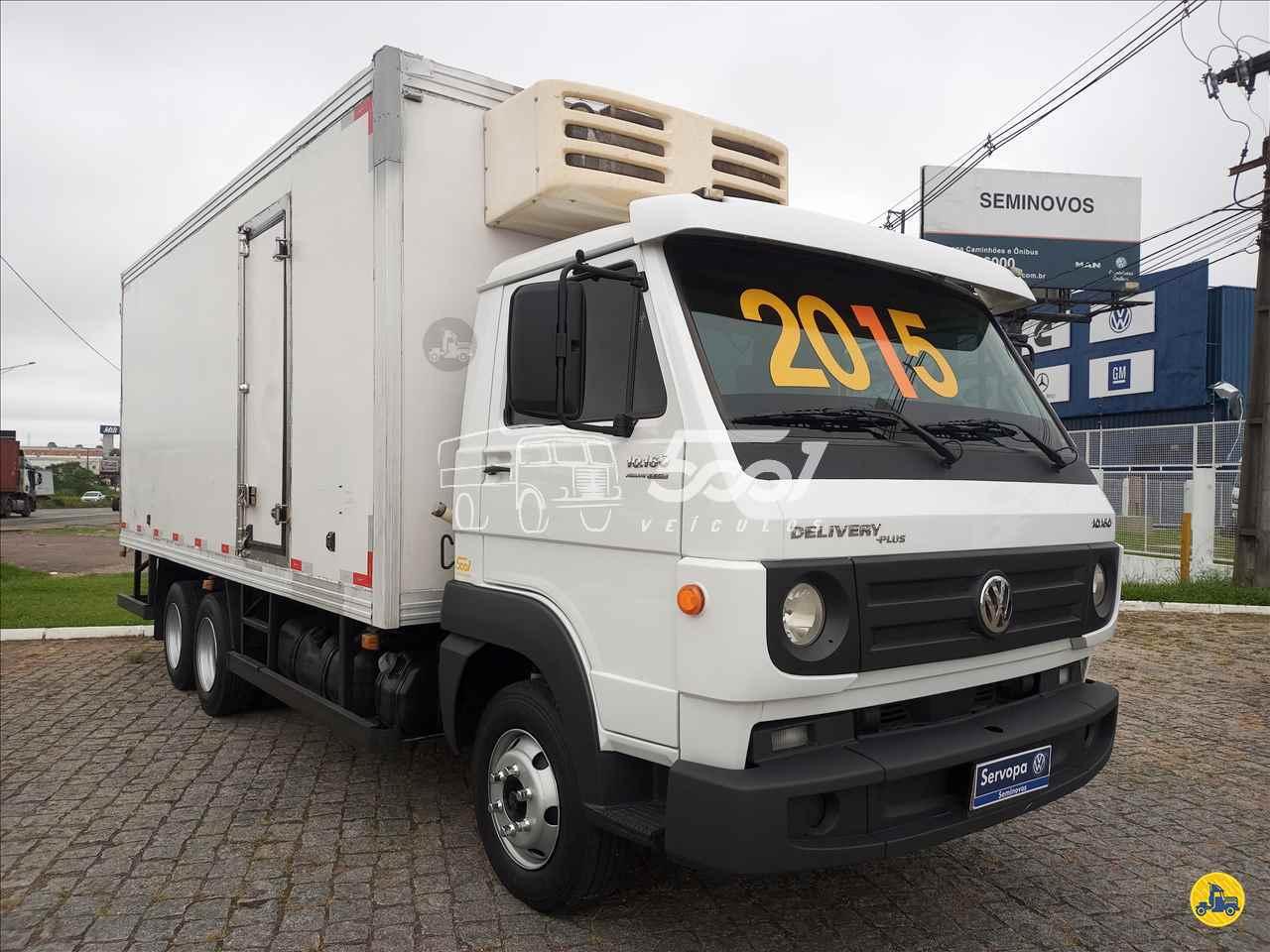 CAMINHAO VOLKSWAGEN VW 10160 Baú Frigorífico Truck 6x2 5001 Veículos - Curitiba CURITIBA PARANÁ PR