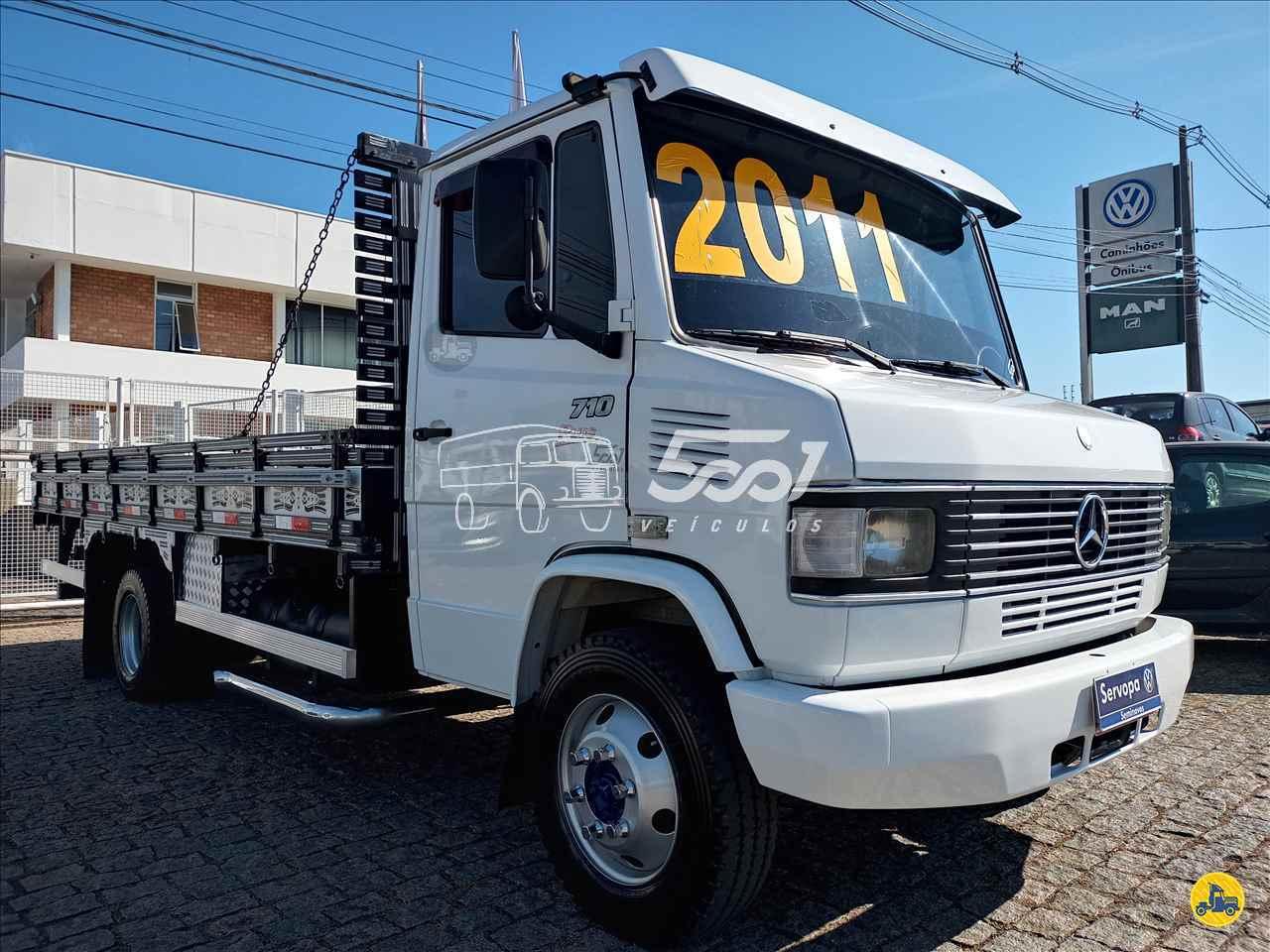 CAMINHAO MERCEDES-BENZ MB 710 Carroceria Cabine Suplementar 3/4 4x2 5001 Veículos - Curitiba CURITIBA PARANÁ PR