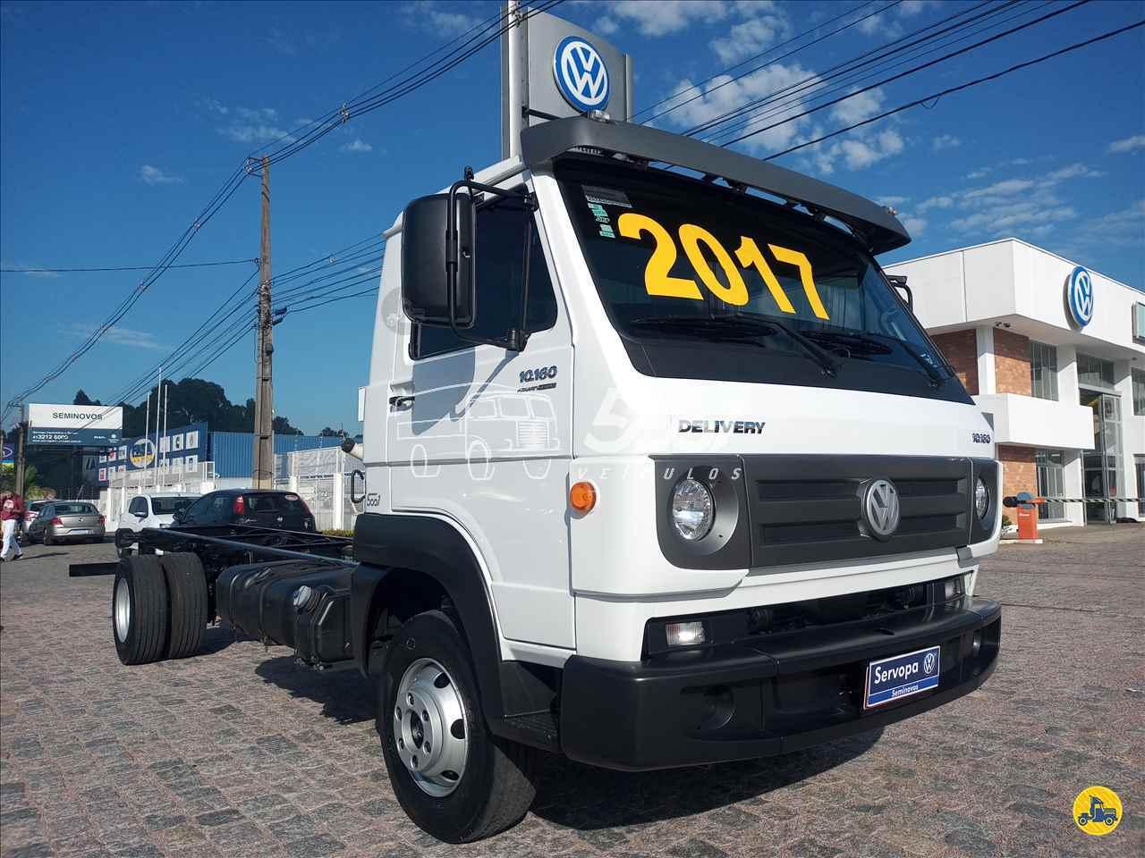 CAMINHAO VOLKSWAGEN VW 10160 Chassis 3/4 4x2 5001 Veículos - Curitiba CURITIBA PARANÁ PR