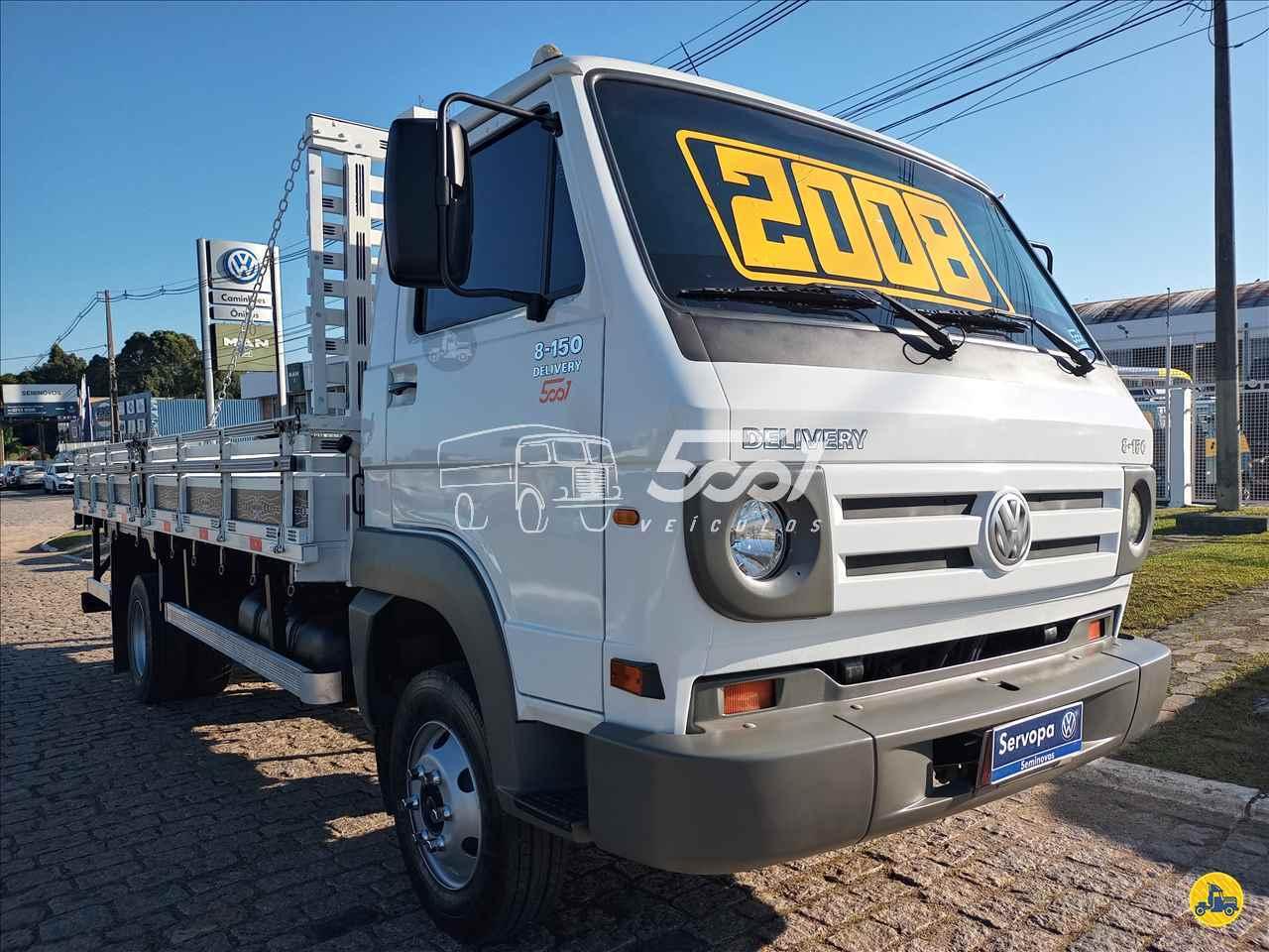 CAMINHAO VOLKSWAGEN VW 8150 Carroceria Cabine Suplementar 3/4 4x2 5001 Veículos - Curitiba CURITIBA PARANÁ PR